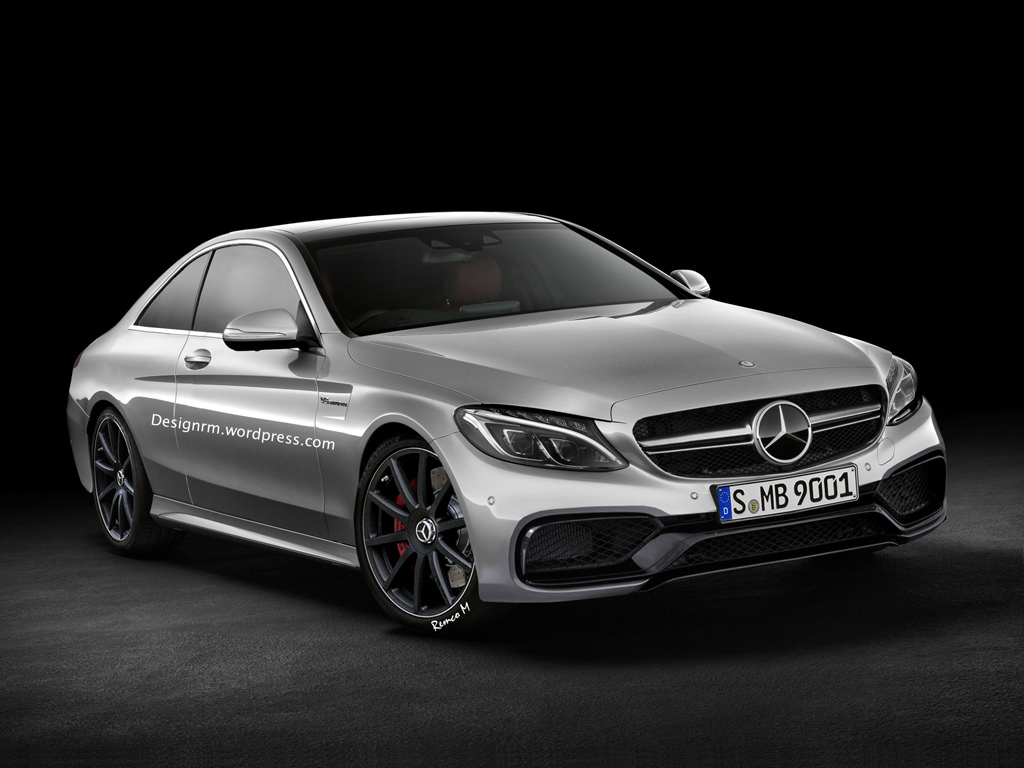 2015 mercedes benz c 63 amg coupe rendering autoevolution for Mercedes benz c class amg