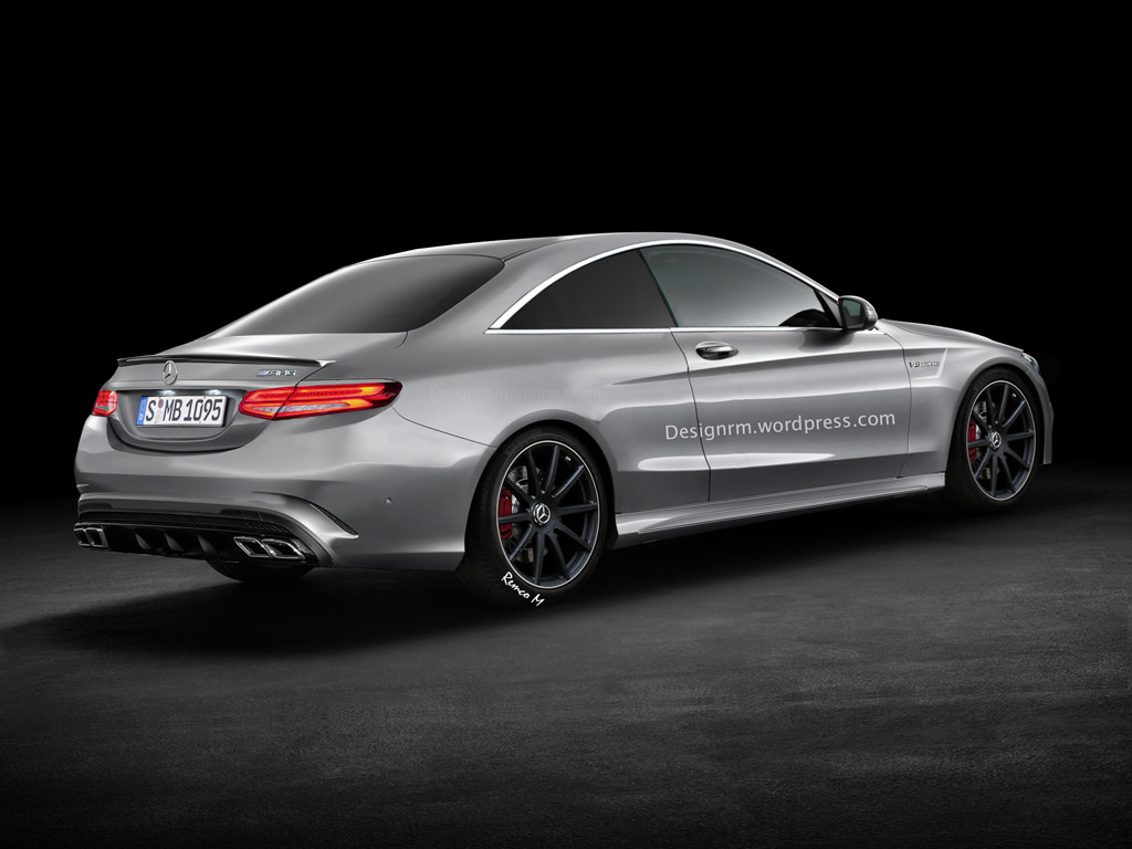 2015 mercedes benz c 63 amg coupe rendering autoevolution. Black Bedroom Furniture Sets. Home Design Ideas