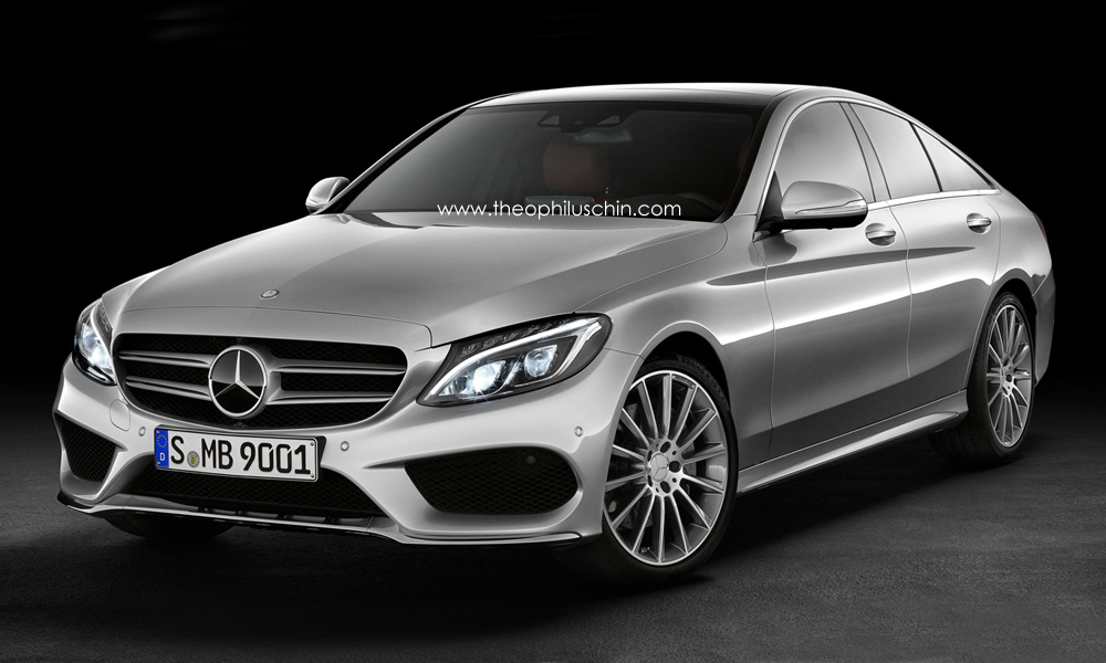 2015 mercedes benz c class sportcoupe rendered autoevolution. Black Bedroom Furniture Sets. Home Design Ideas