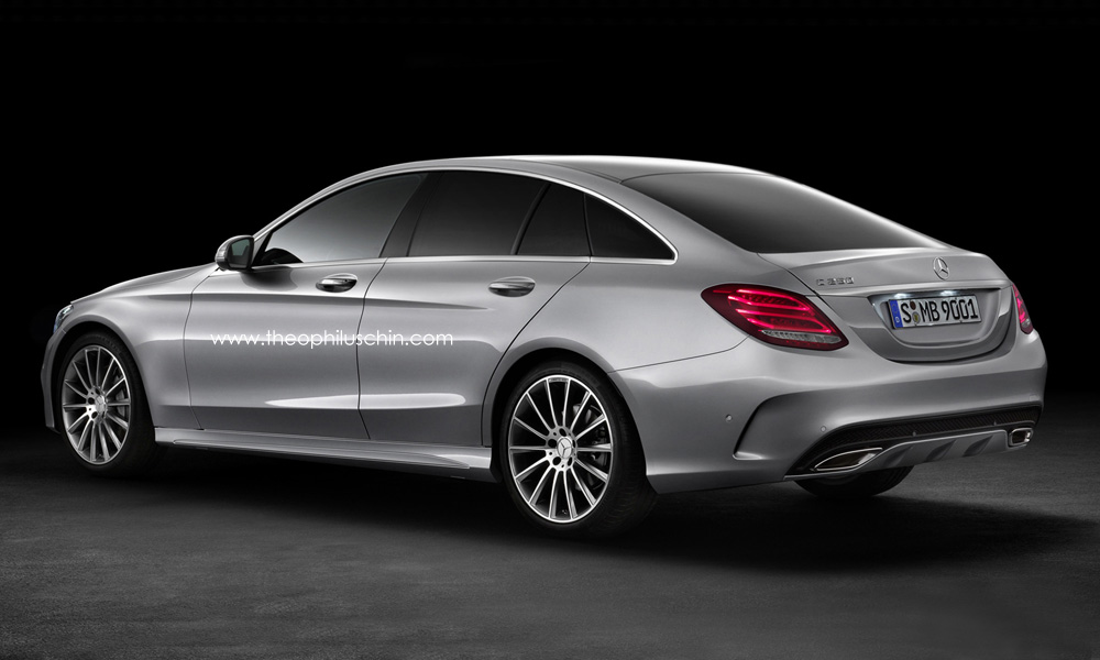2015 mercedes benz c class sportcoupe rendered autoevolution