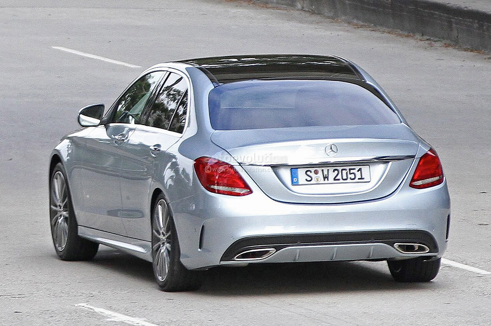 2015 mercedes benz c class w205 completely revealed for Mercedes benz w205