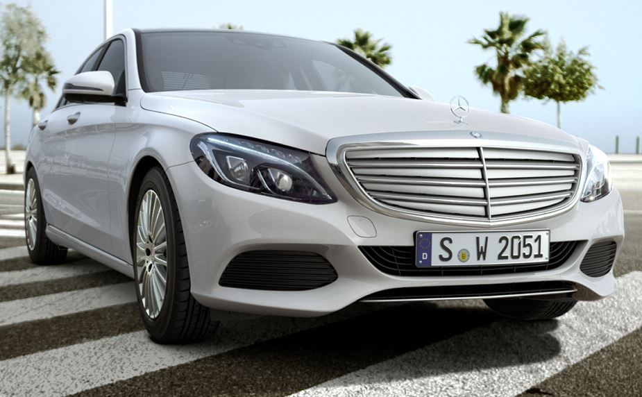 2015 Mercedes Benz C Class W205 With Airpanel Looks Like Bane Autoevolution