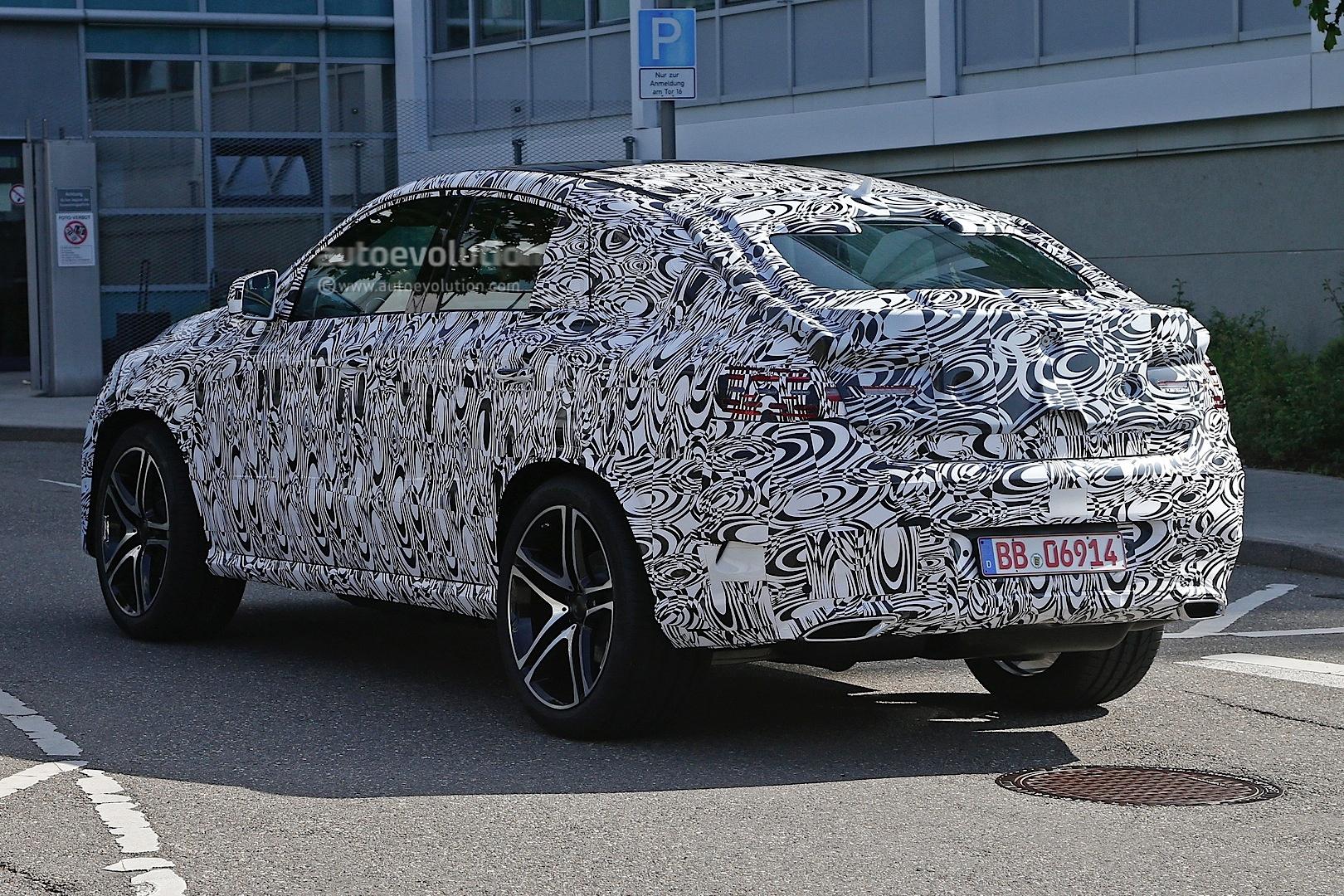 2015 Mercedes-Benz MLC vs 2015 BMW X6 Spyshots - autoevolution