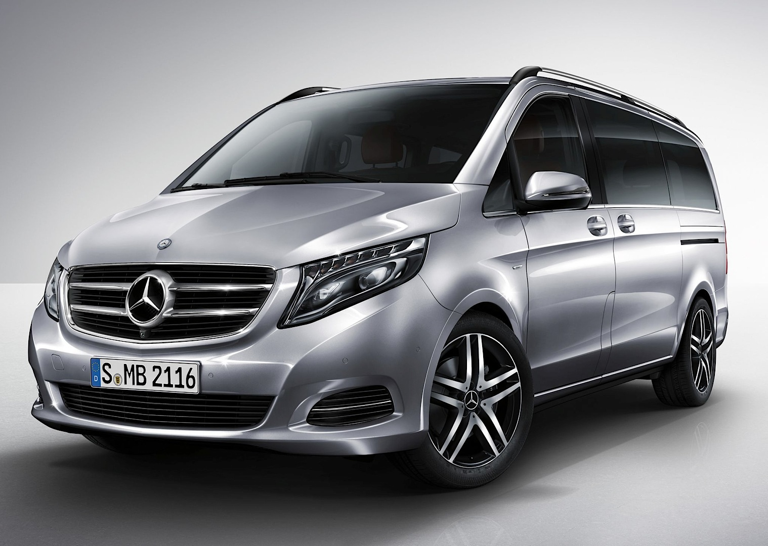 2015 Mercedes Benz V Class Edition 1 Gets Detailed Photo