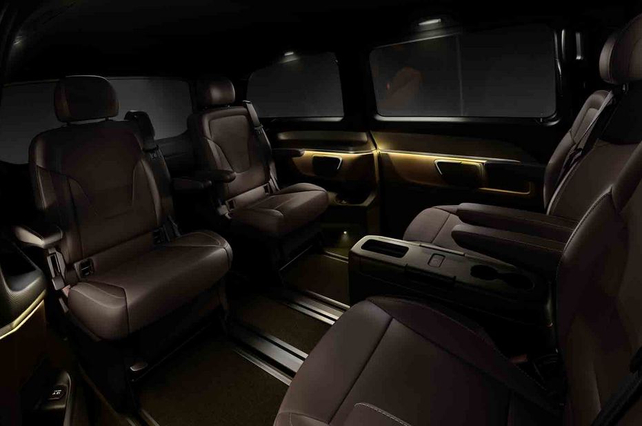 2015 mercedes benz viano replacement shows its interior