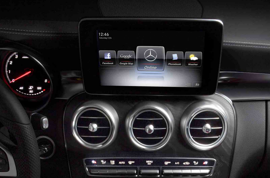 2015 Mercedes C Class Interior Revealed Autoevolution
