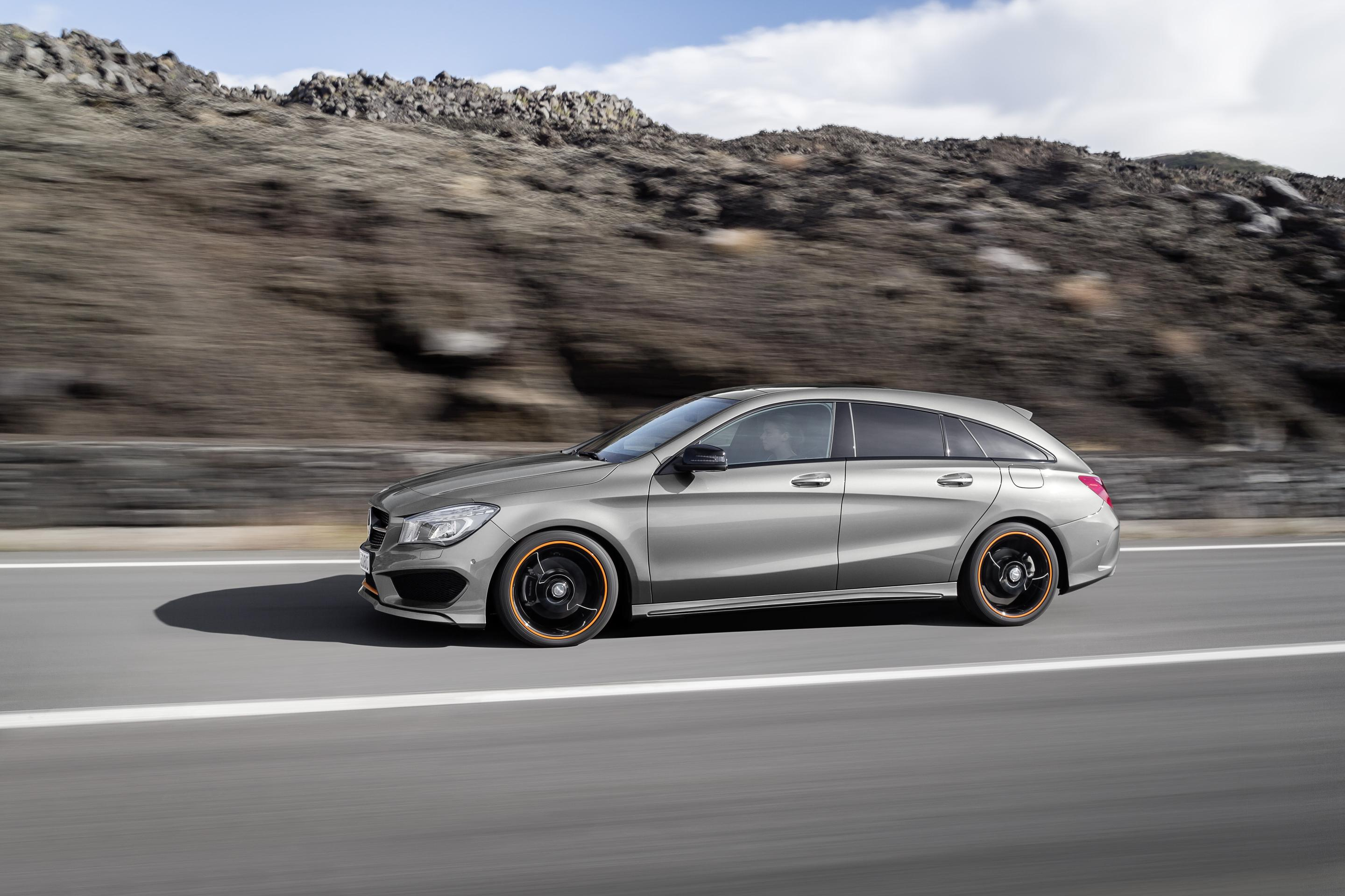 2015 mercedes cla shooting brake prices announced 45 amg for Mercedes benz in germany