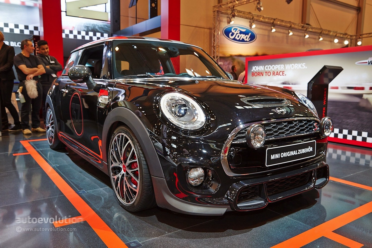 2017 Mini Cooper S With Jcw Tuning Kit At Essen