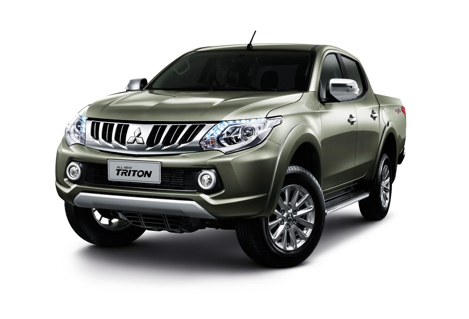 2015 mitsubishi triton l200 debuts in thailand video autoevolution. Black Bedroom Furniture Sets. Home Design Ideas