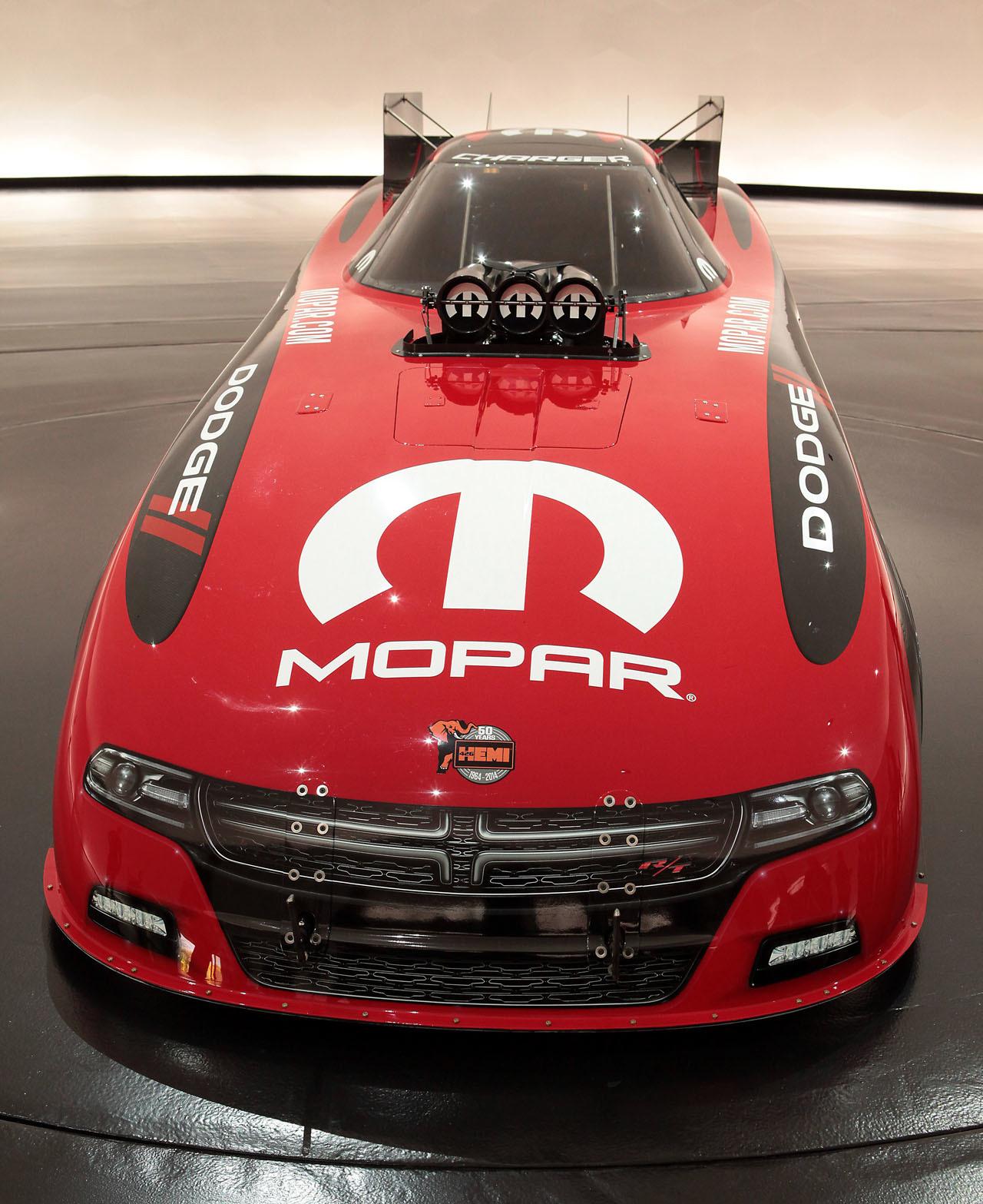 2015 Mopar Dodge Charger R/T NHRA Funny Car Unveiled At