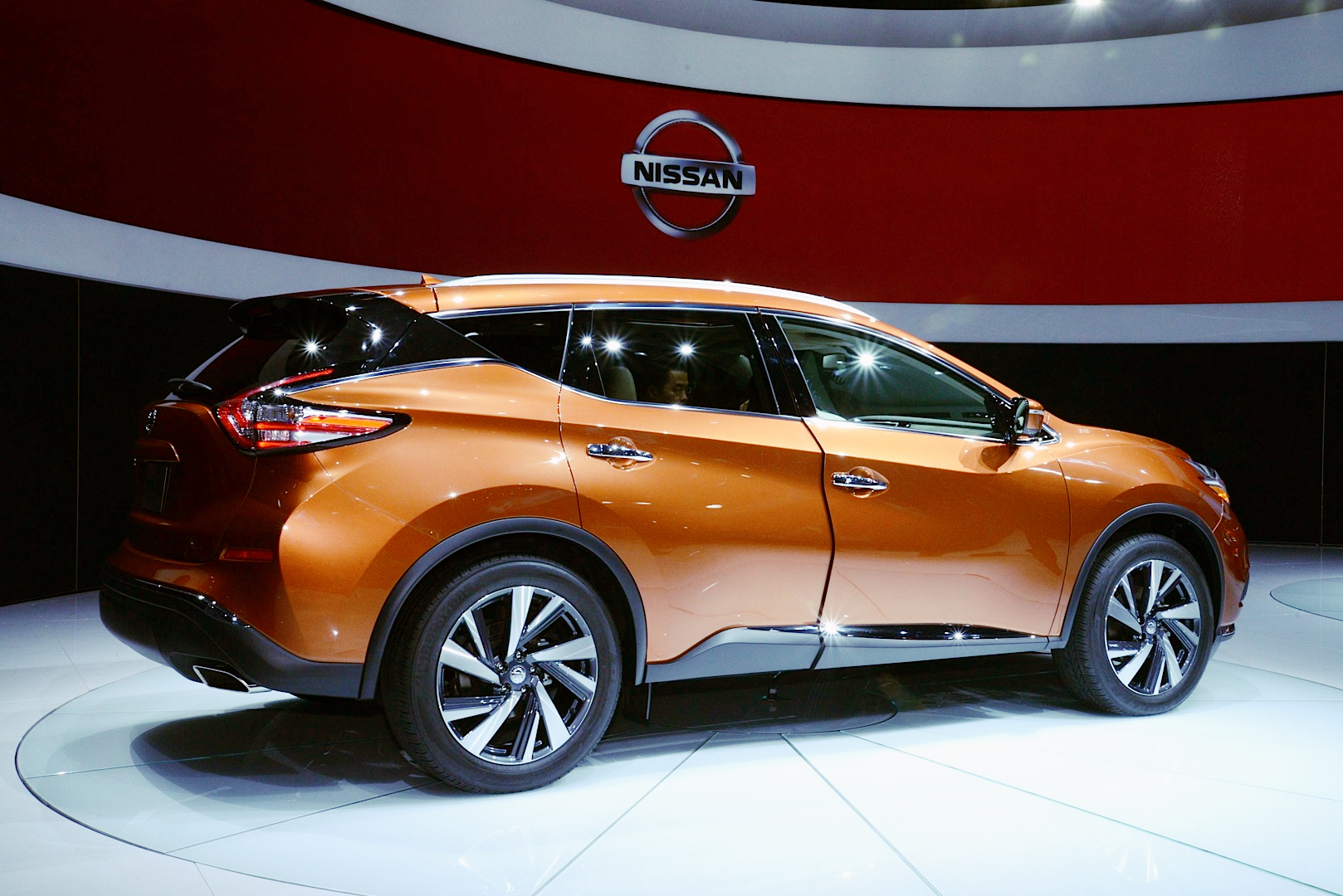 2015 murano is the sexiest nissan yet live photos autoevolution. Black Bedroom Furniture Sets. Home Design Ideas