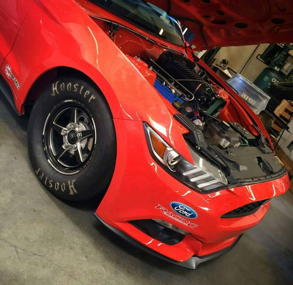91 Mustang Gt >> 2015 Mustang Gets Solid Rear Axle Conversion as Cobra Jet Test Car, Does 8s Quarter Mile ...