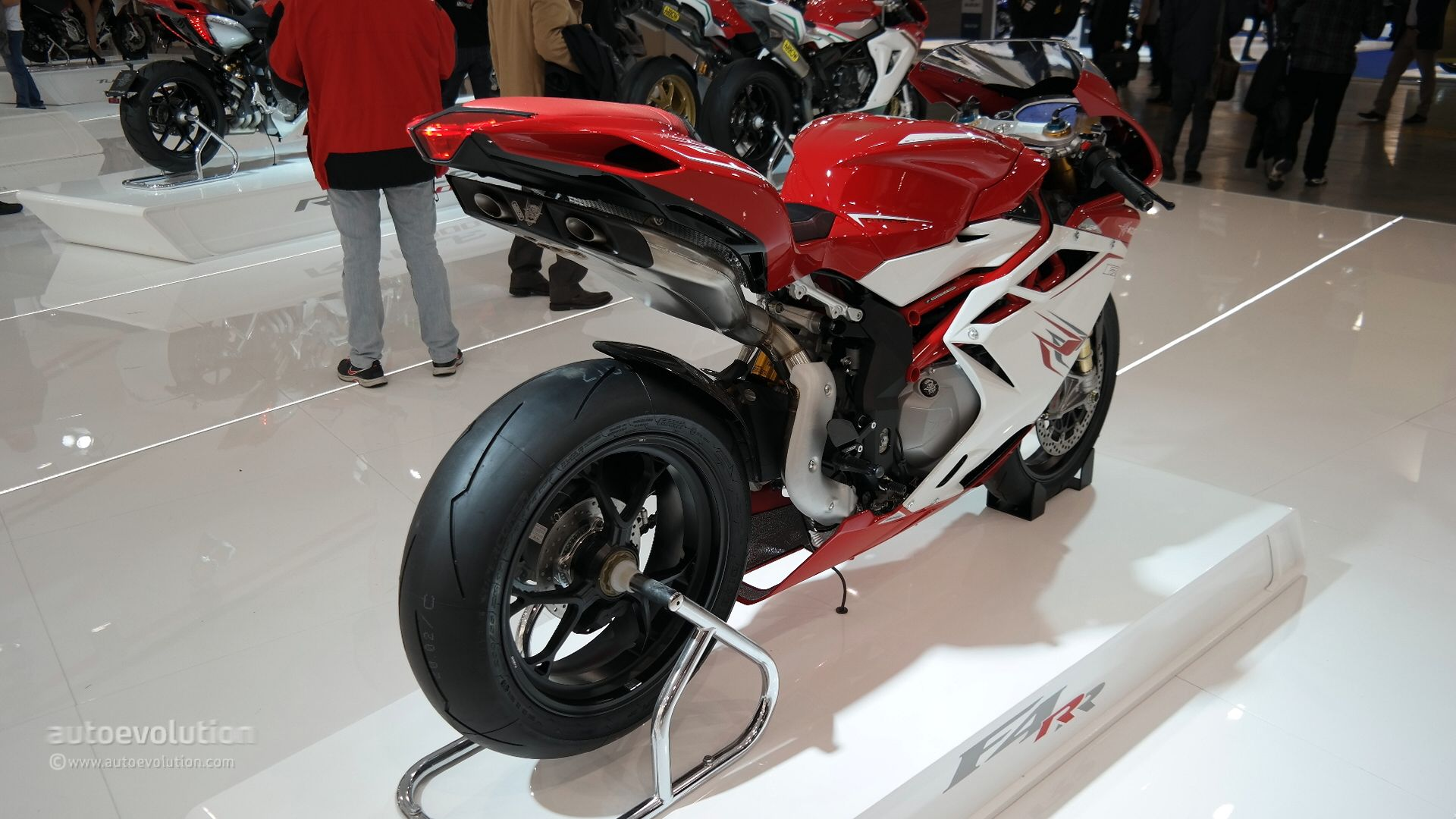 MV Agusta has been working around the clock to improve the performance ...