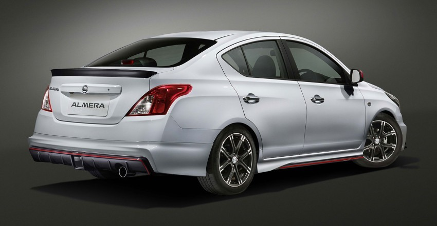 2015 Nissan Almera NISMO Performance Packs 101 HP in ...