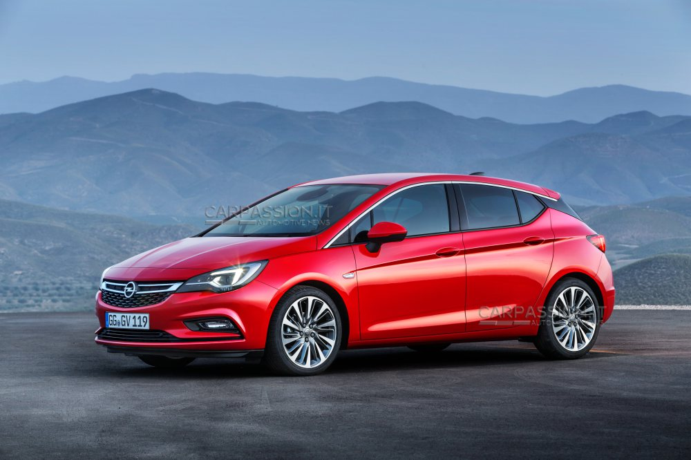 2015 Opel Astra K is a Handsome Hatchback - autoevolution