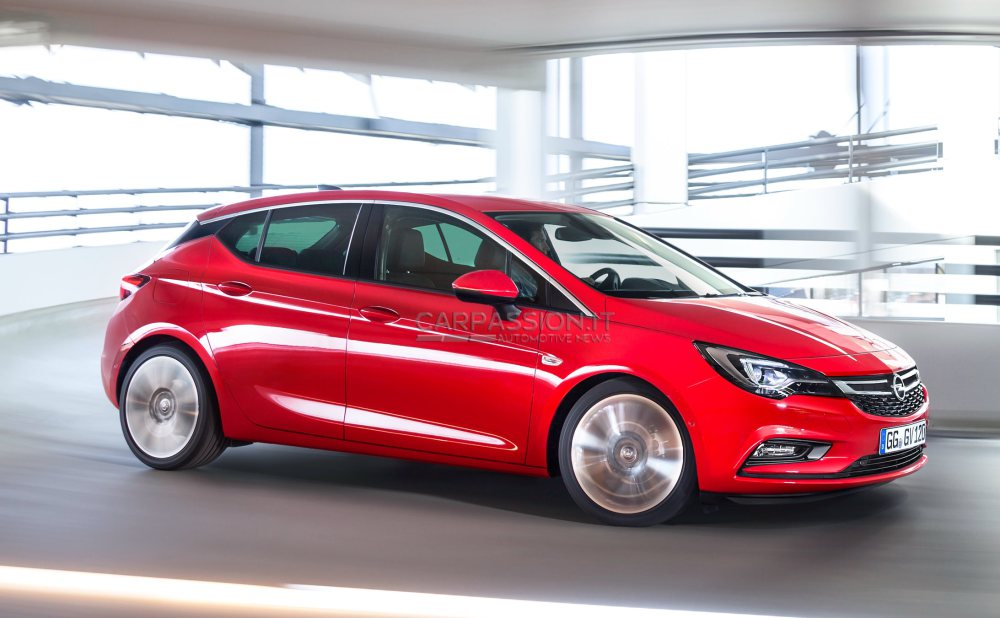2015 opel astra k is a handsome hatchback autoevolution. Black Bedroom Furniture Sets. Home Design Ideas
