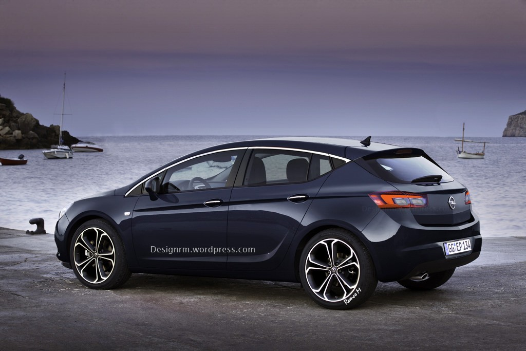 2015 Opel Astra K Rendered Yet Again - autoevolution