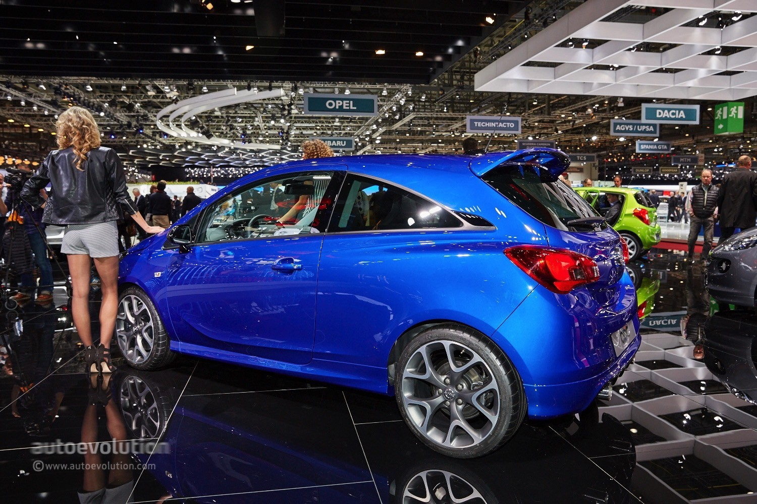 2015 Opel Corsa Opc Makes The Hot Girls Of Geneva Go Nim