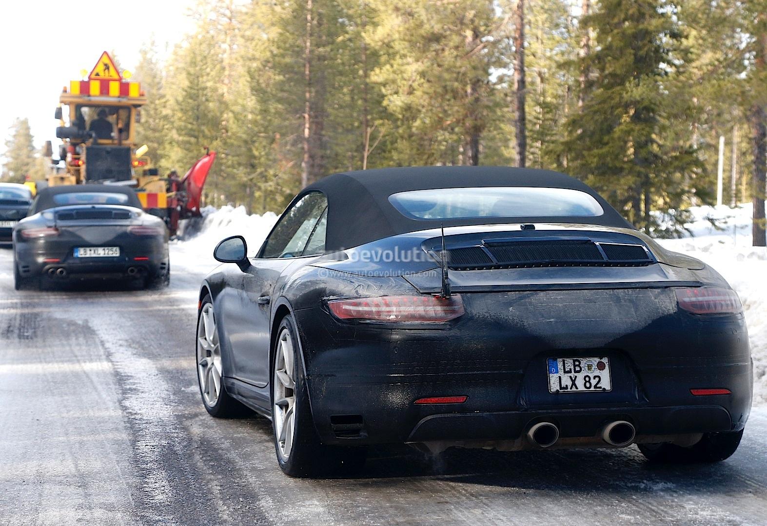 2015 Porsche 911 Facelift Sports Active Grille Shutters
