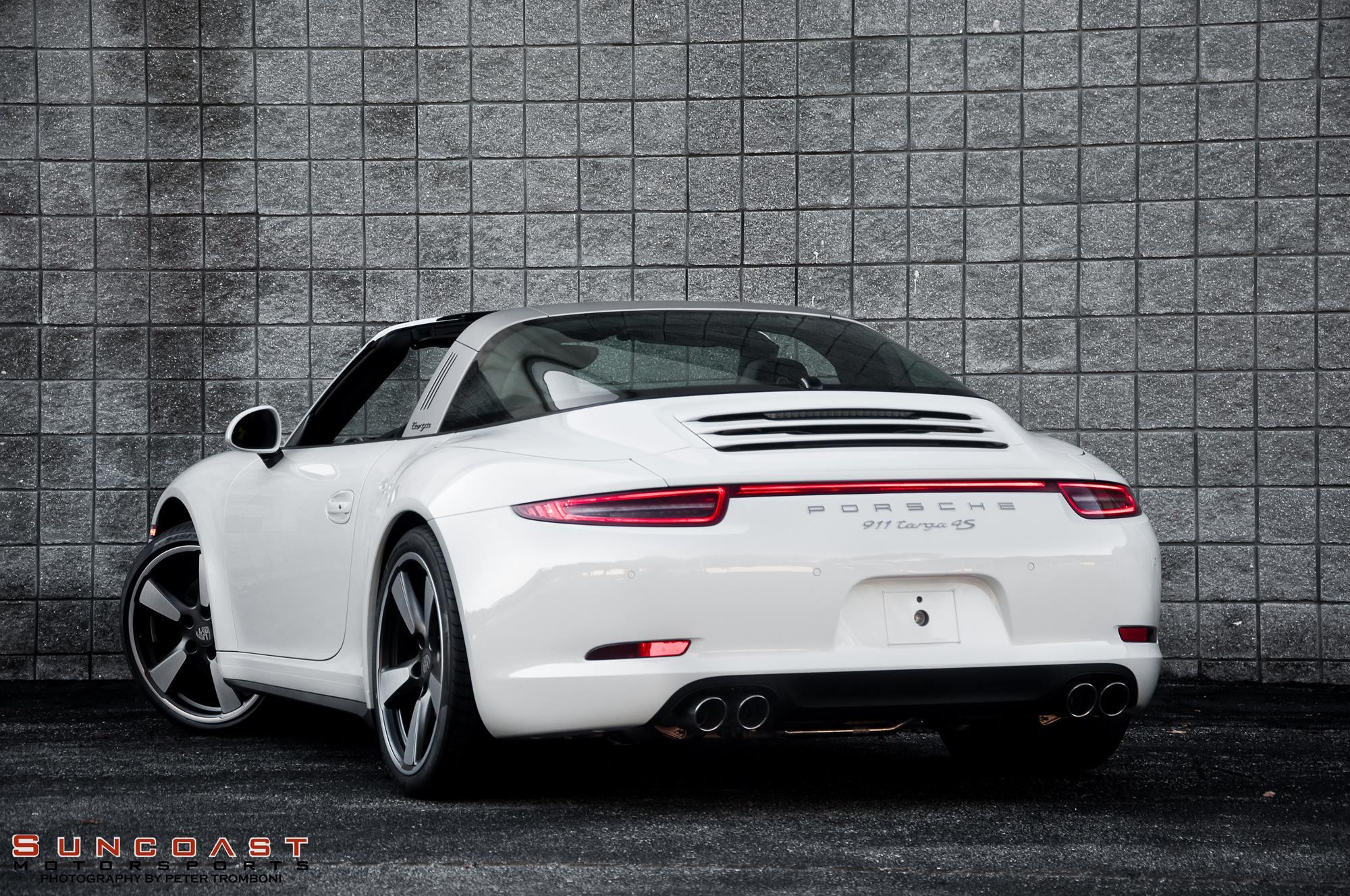 2015 Porsche 911 Targa Shines On 50th Anniversary Edition