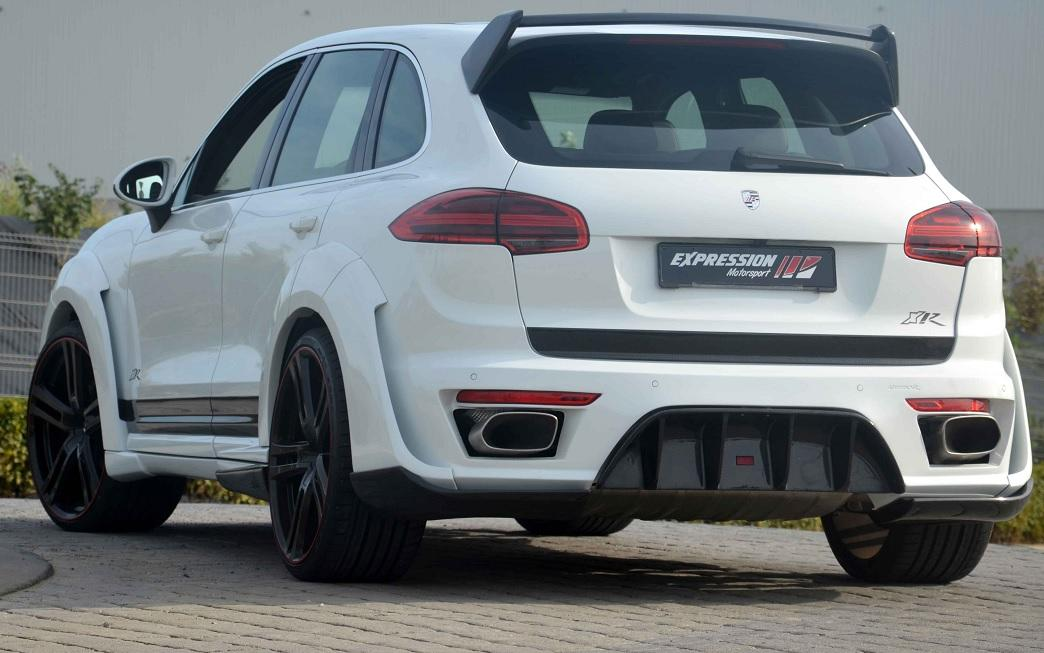 Porsche Cayenne Turbo S E Hybrid >> 2015 Porsche Cayenne Gets Expression XR Wide Body Kit, Regrets It - autoevolution