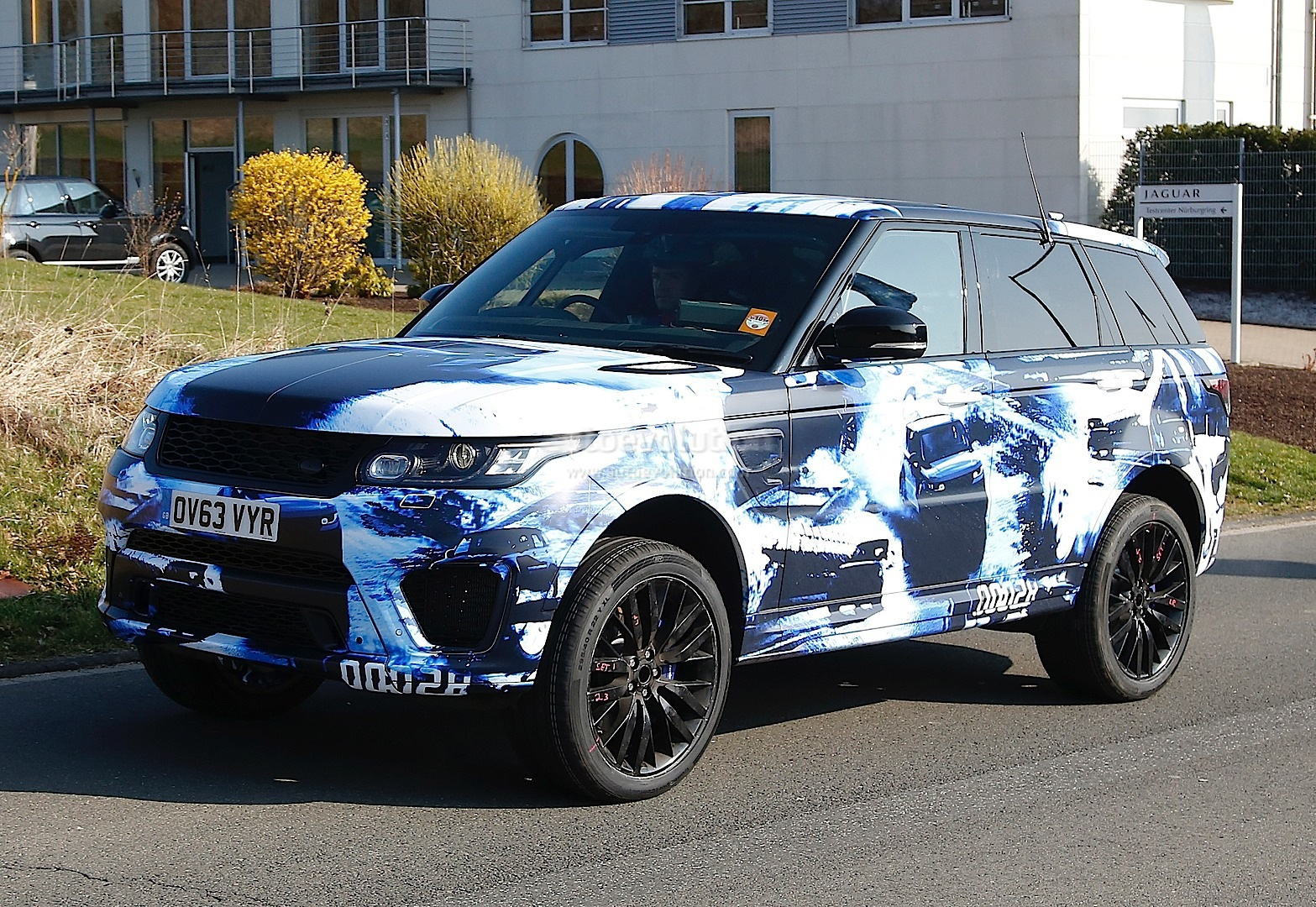 Spyshots 2015 Range Rover Sport Rs In Fancy Camo