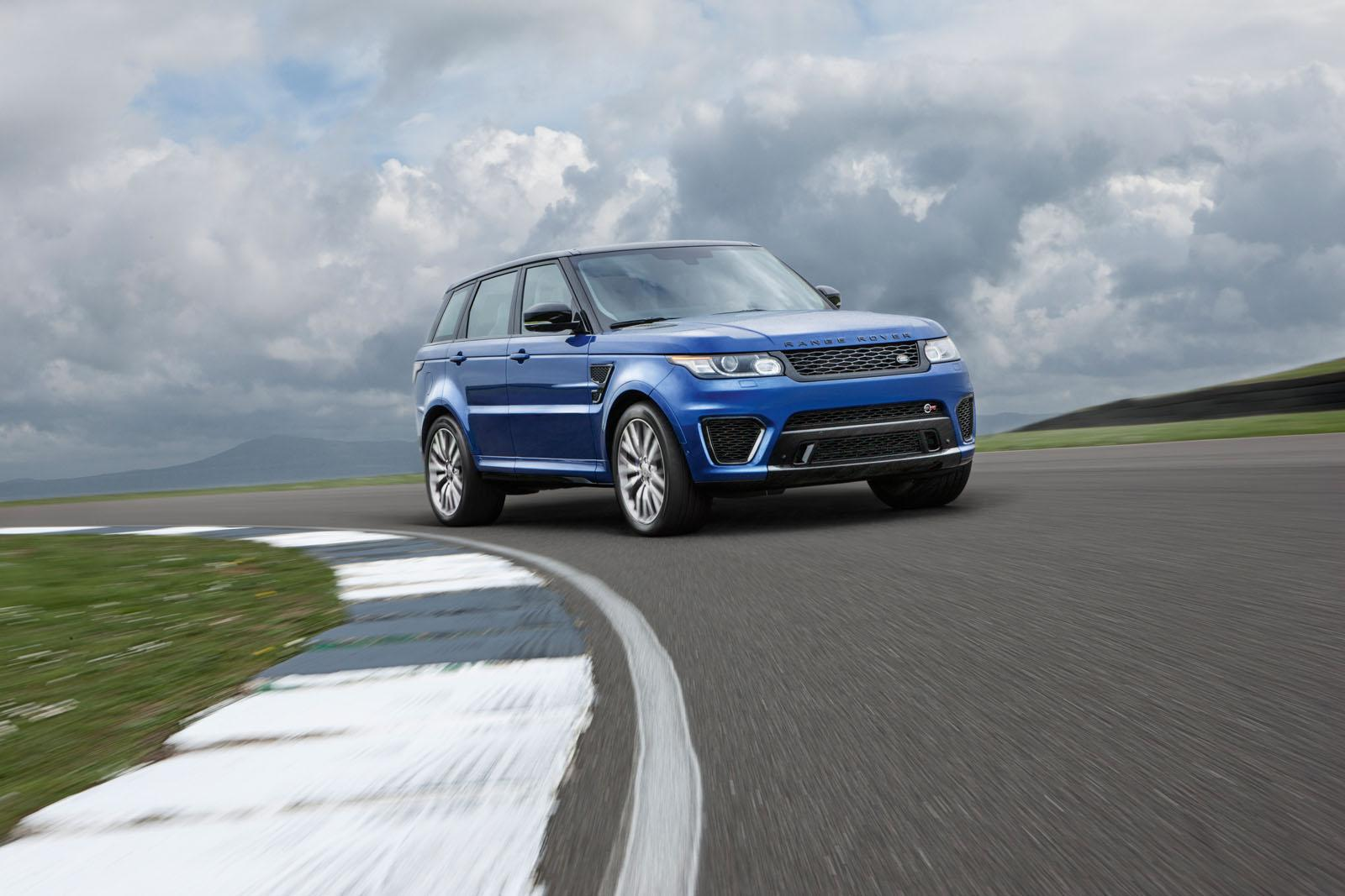 2015 range rover sport svr with 550 hp is the fastest land rover ever video autoevolution. Black Bedroom Furniture Sets. Home Design Ideas