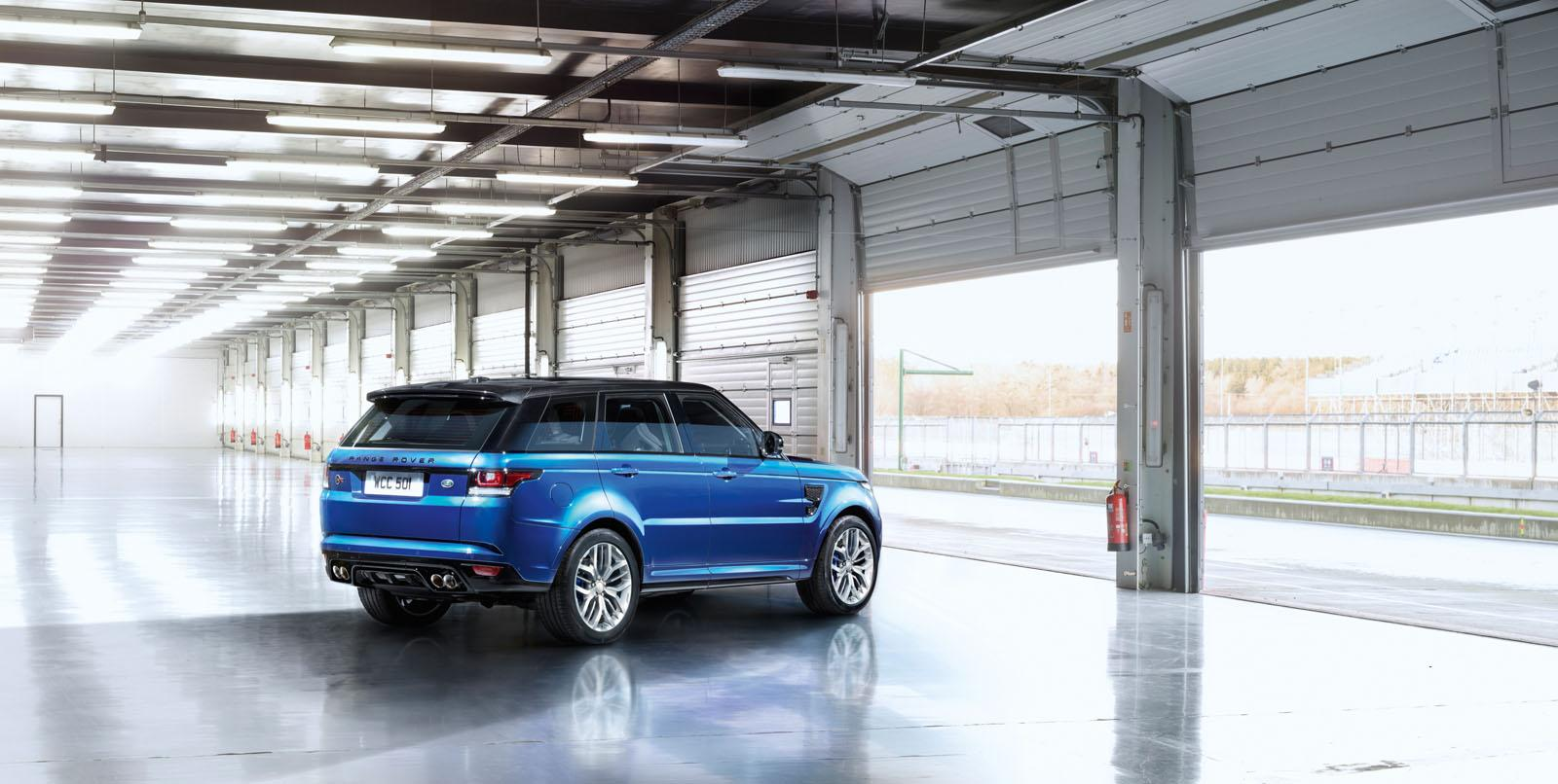 2015 range rover sport svr with 550 hp is the fastest land. Black Bedroom Furniture Sets. Home Design Ideas