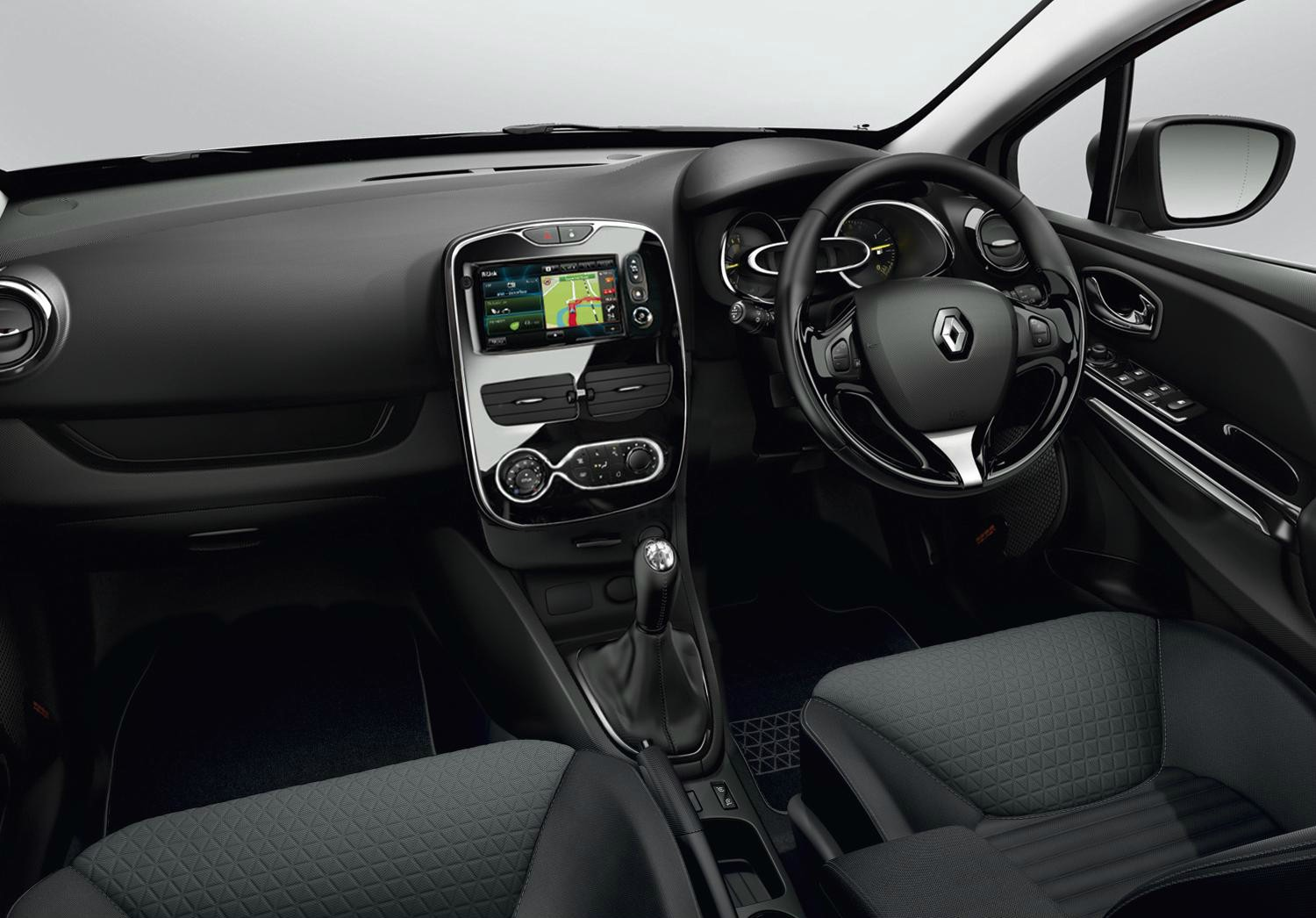 2015 renault clio gt line look pack costs 400 autoevolution for Clio 4 interieur rouge