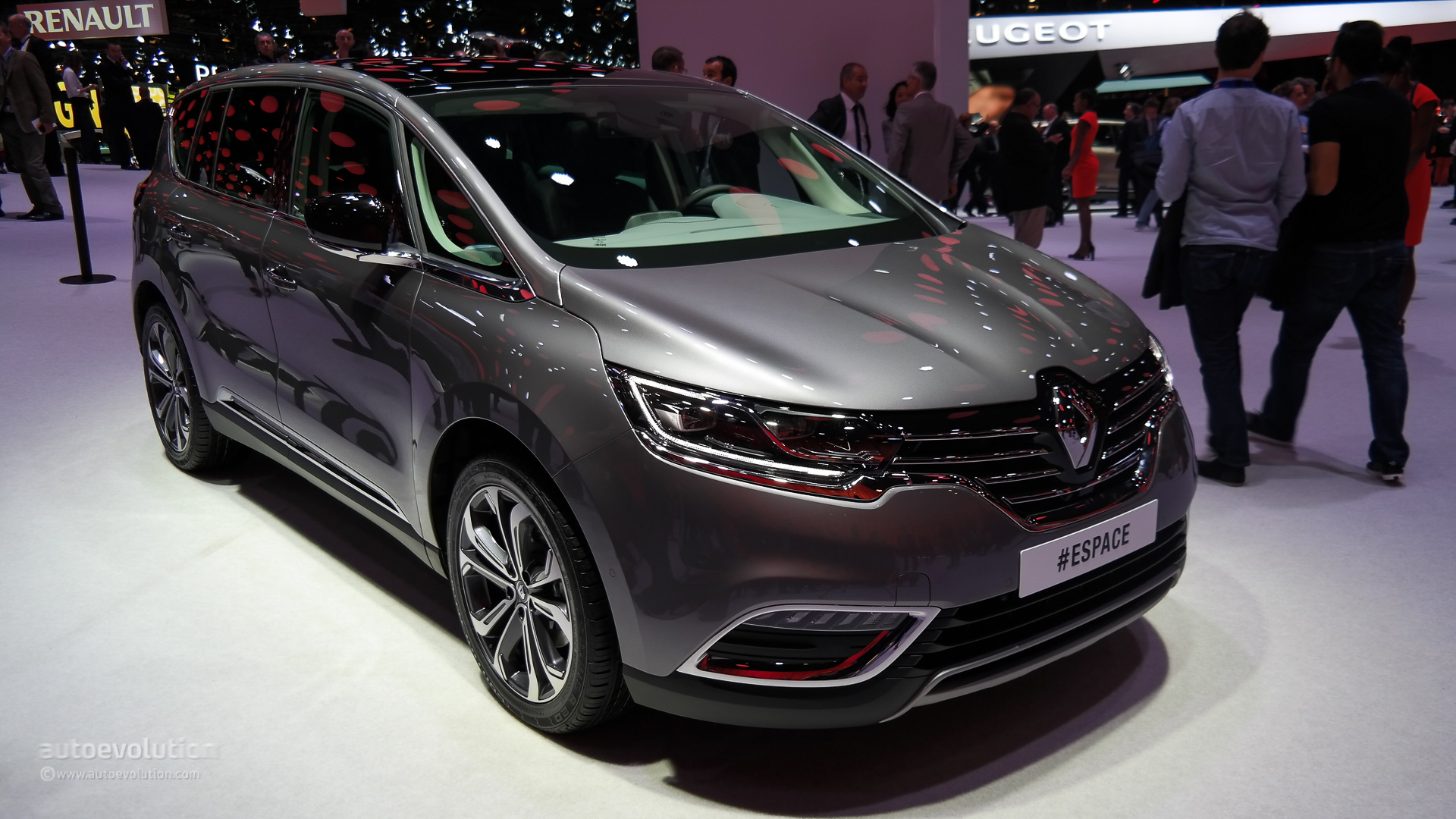 2015 renault espace configurator launched prices start at 34 200 in france autoevolution. Black Bedroom Furniture Sets. Home Design Ideas