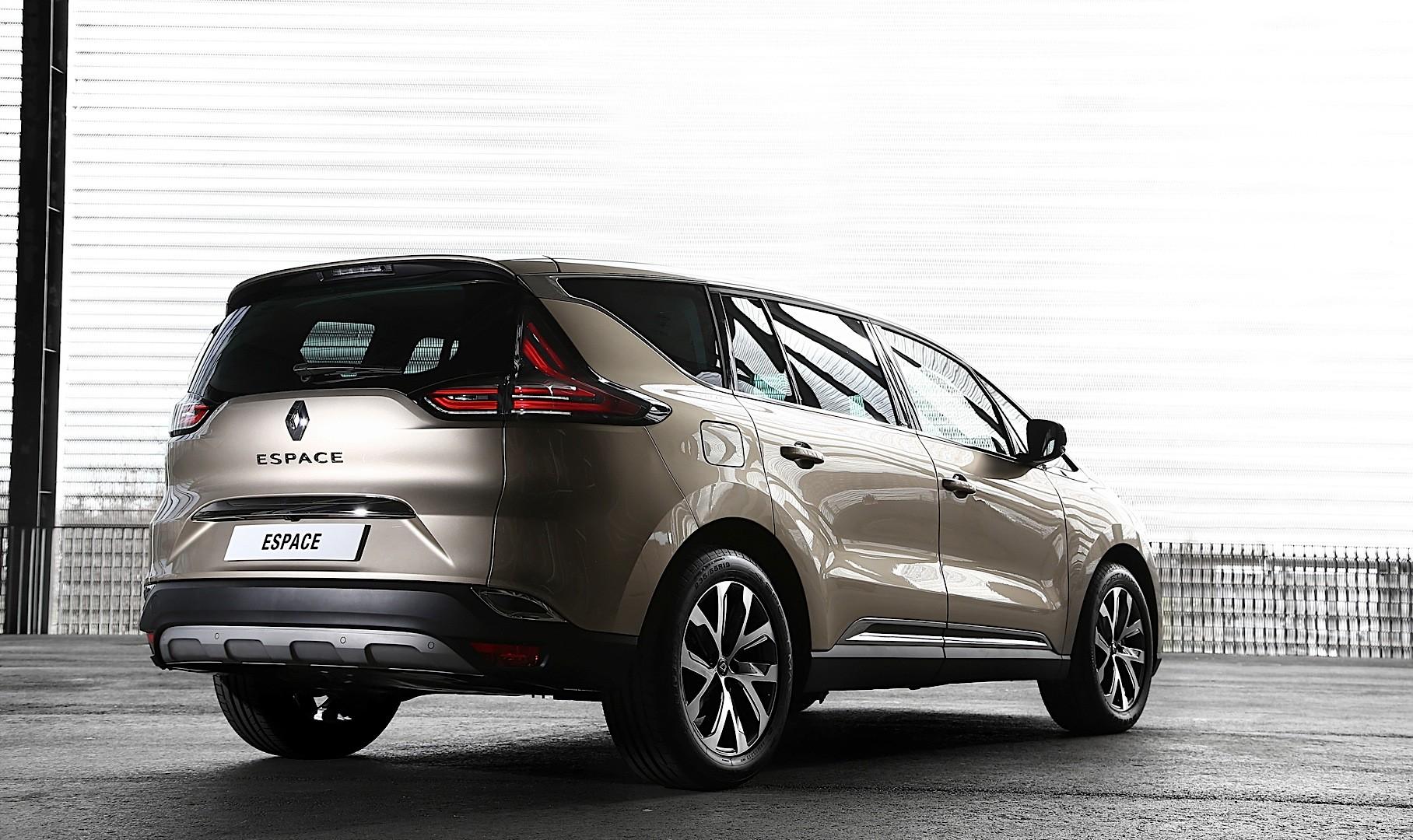 2015 Renault Espace Looks Stunning in Dark Amethyst ...