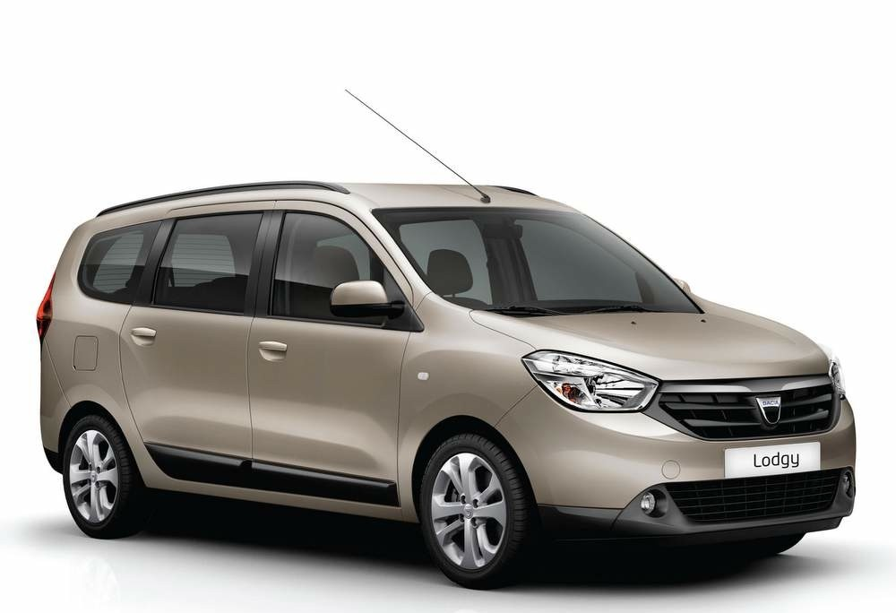 2015 renault lodgy first photo revealed in india. Black Bedroom Furniture Sets. Home Design Ideas