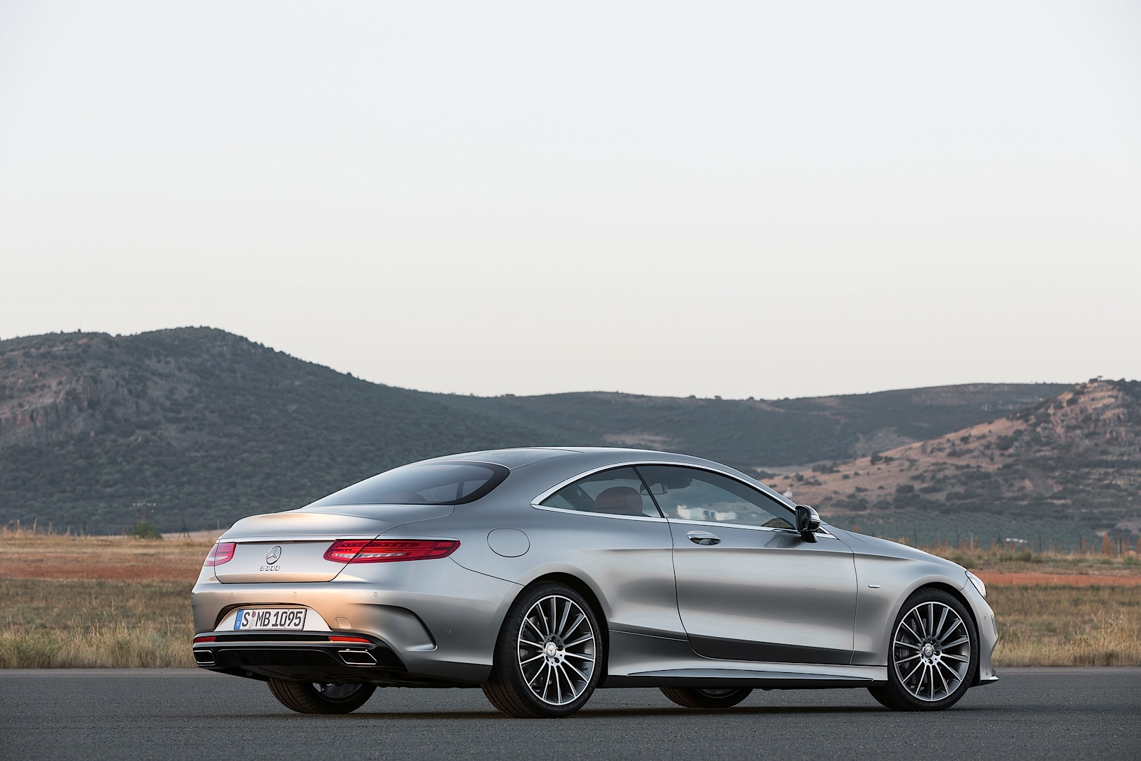 Tilda Swinton and The Mercedes-Benz S-Class Coupe Star in ...