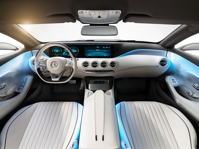 Mercedes-Benz Concept S-Class Coupe Driven by Auto Express ... | {Auto cockpit mercedes 36}