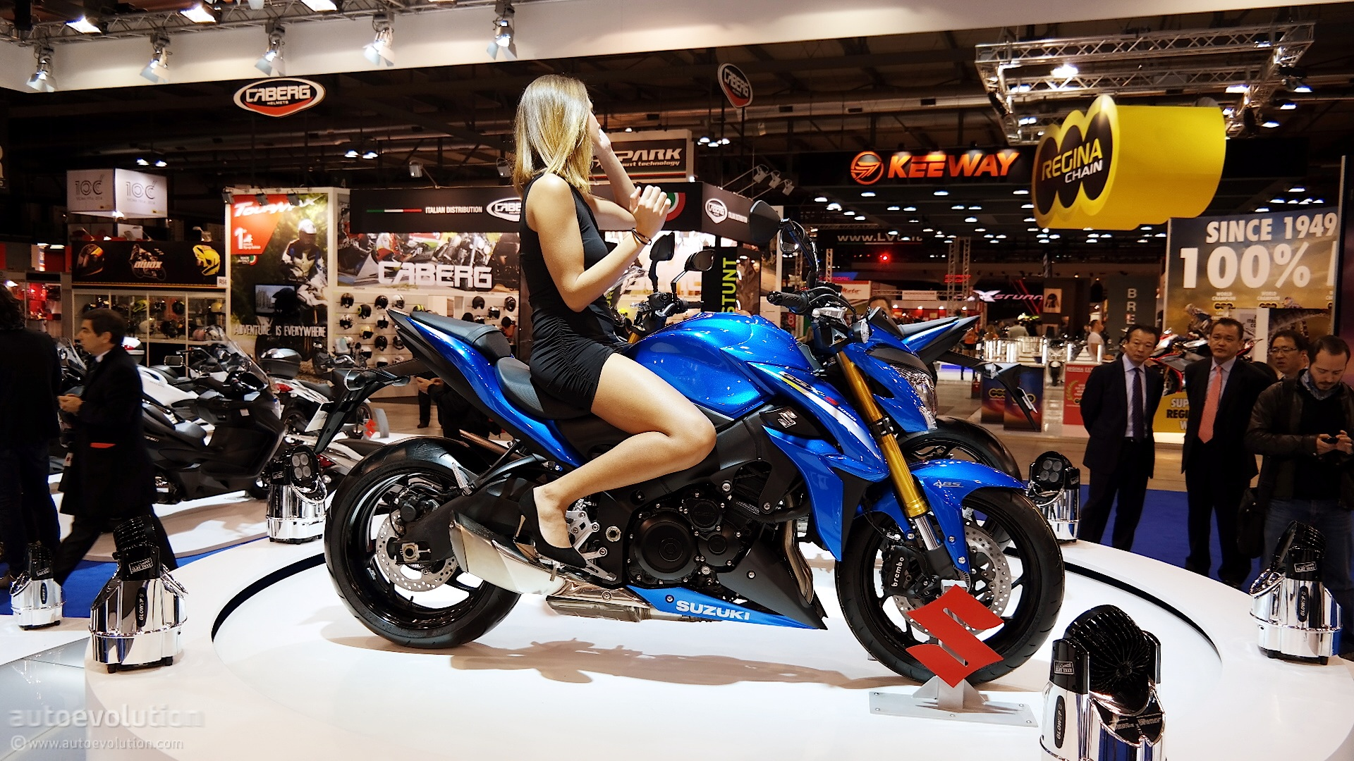 2016 Suzuki GSX-S1000 Brings Updates to EICMA 2014 [Live ...