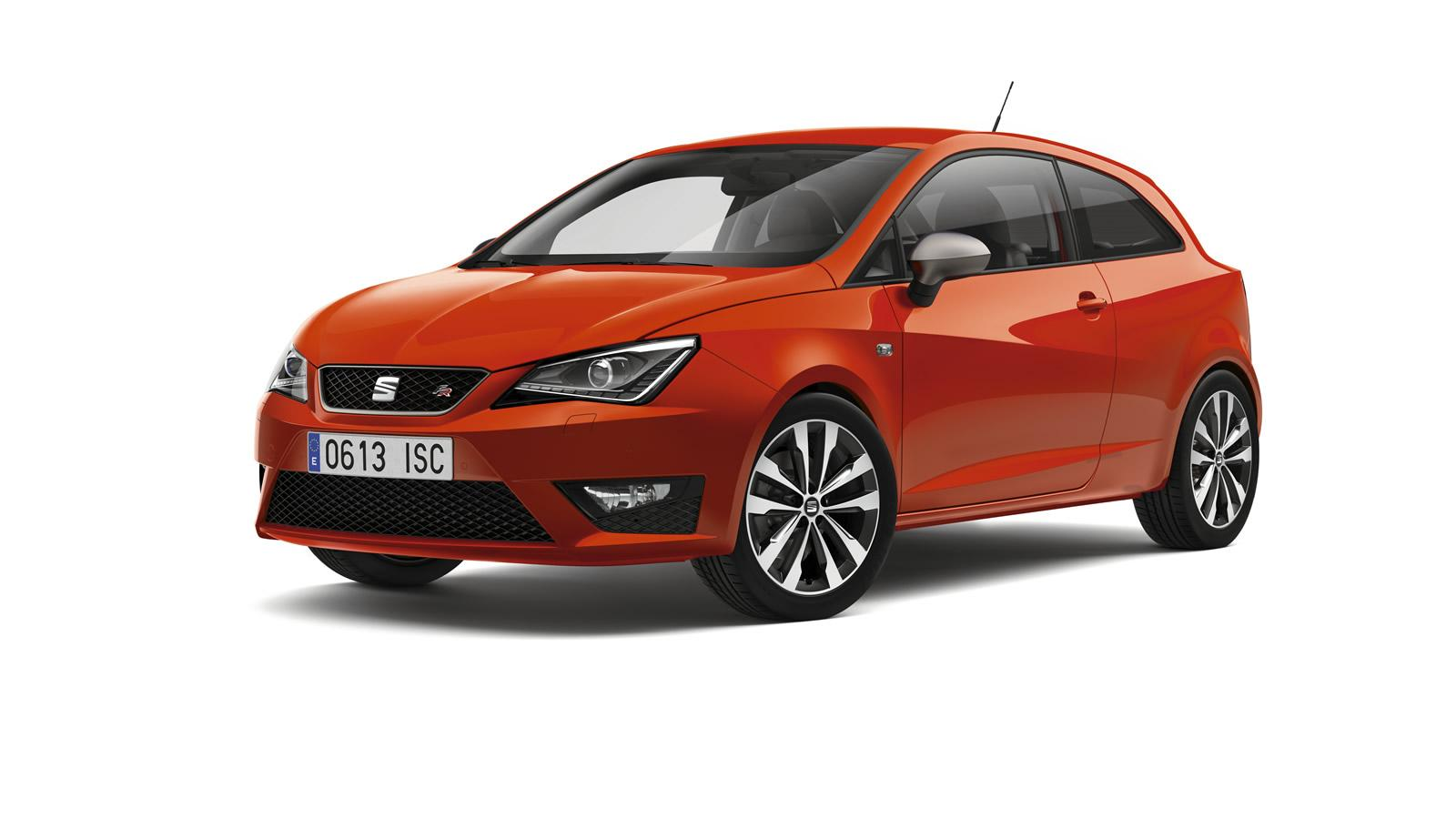 2015 seat ibiza facelift gets leon interior bits minor. Black Bedroom Furniture Sets. Home Design Ideas