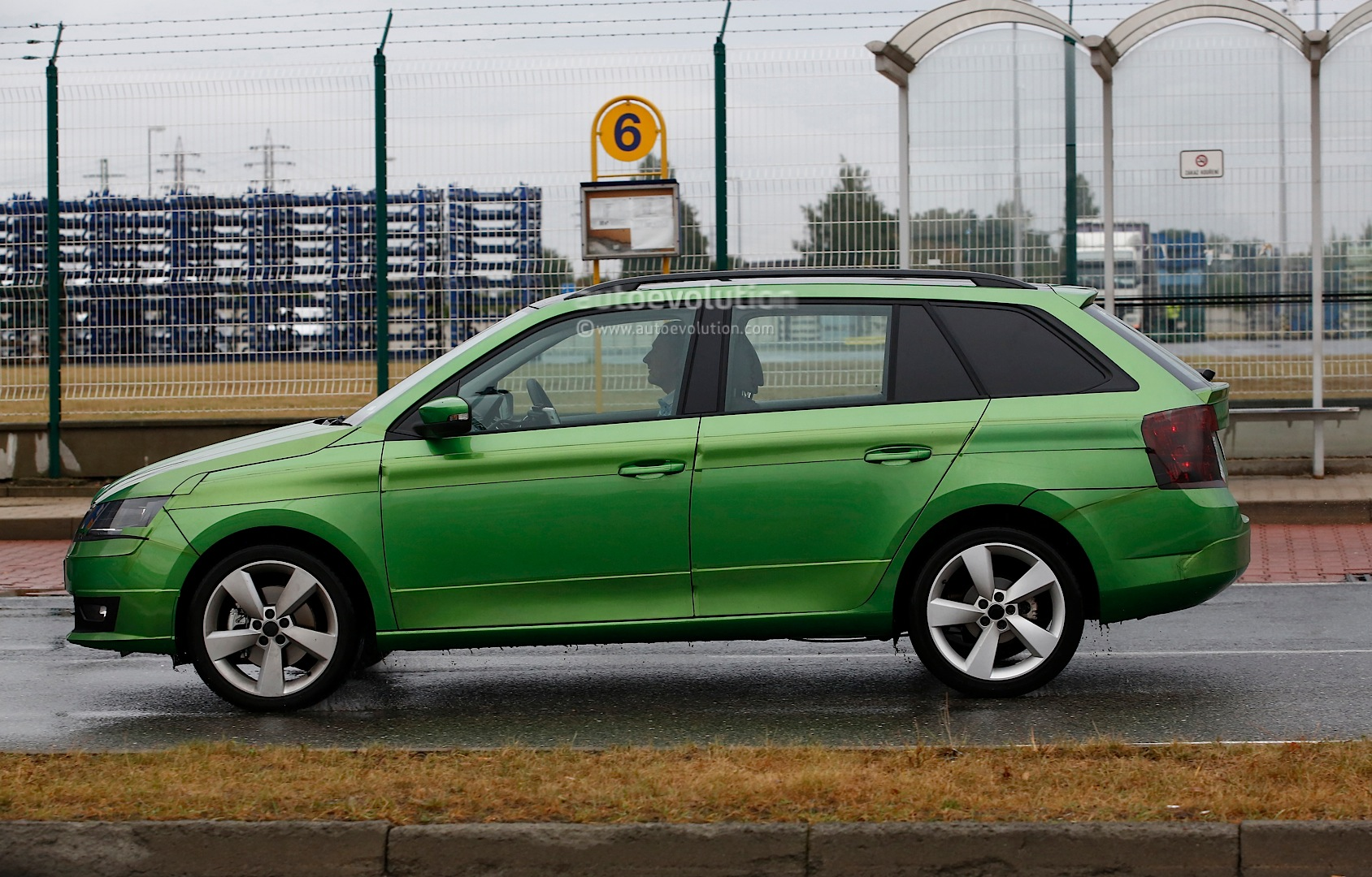 2015 Skoda Fabia Combi Spied Almost Undisguised