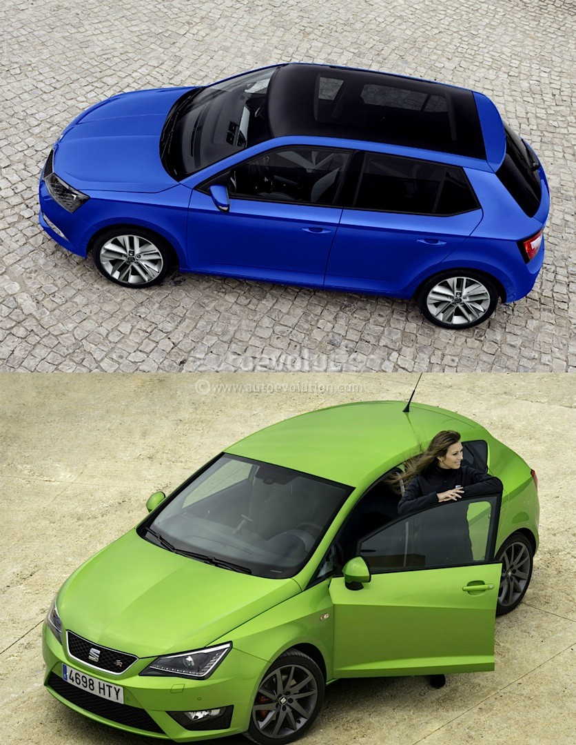 2015 skoda fabia is better than the seat ibiza 5 reasons autoevolution. Black Bedroom Furniture Sets. Home Design Ideas