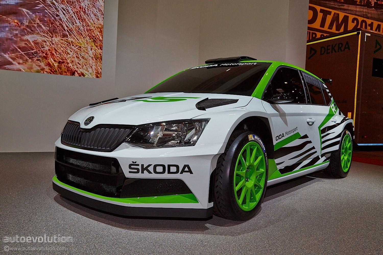 2015 Skoda Fabia R5 Races Into Essen And The Rally World Video Live Photos Autoevolution