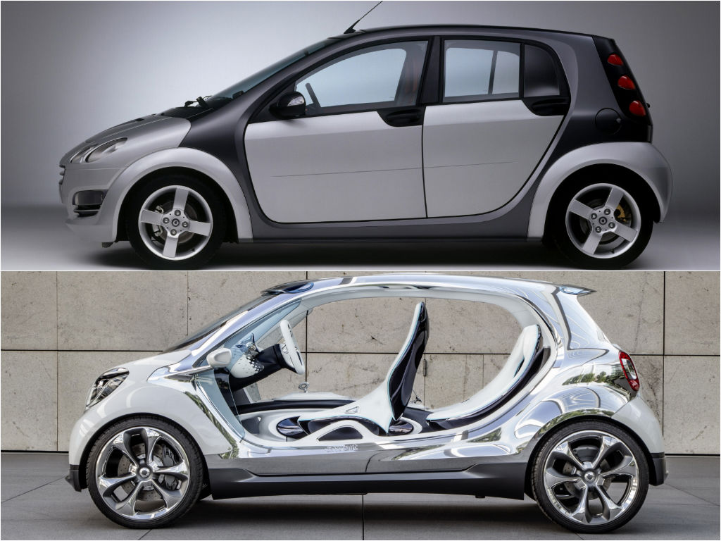 2015 smart forfour to be smaller than first generation. Black Bedroom Furniture Sets. Home Design Ideas