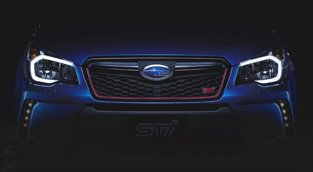 2015 Subaru Forester STi Will Be Unveiled On November 25th