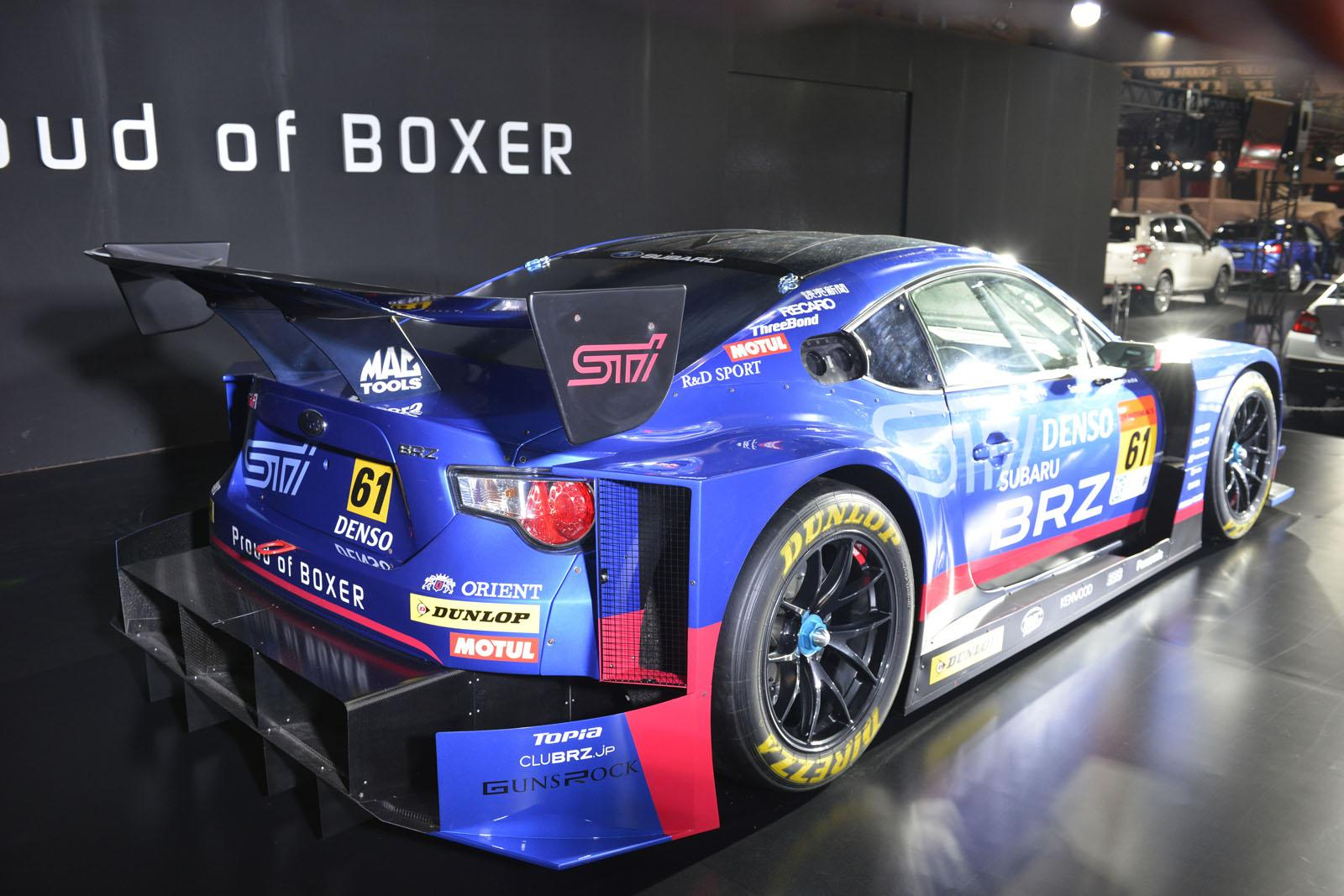 2015 Subaru Racers Revealed: WRX STI for Nurburgring 24H and BRZ GT300 ...