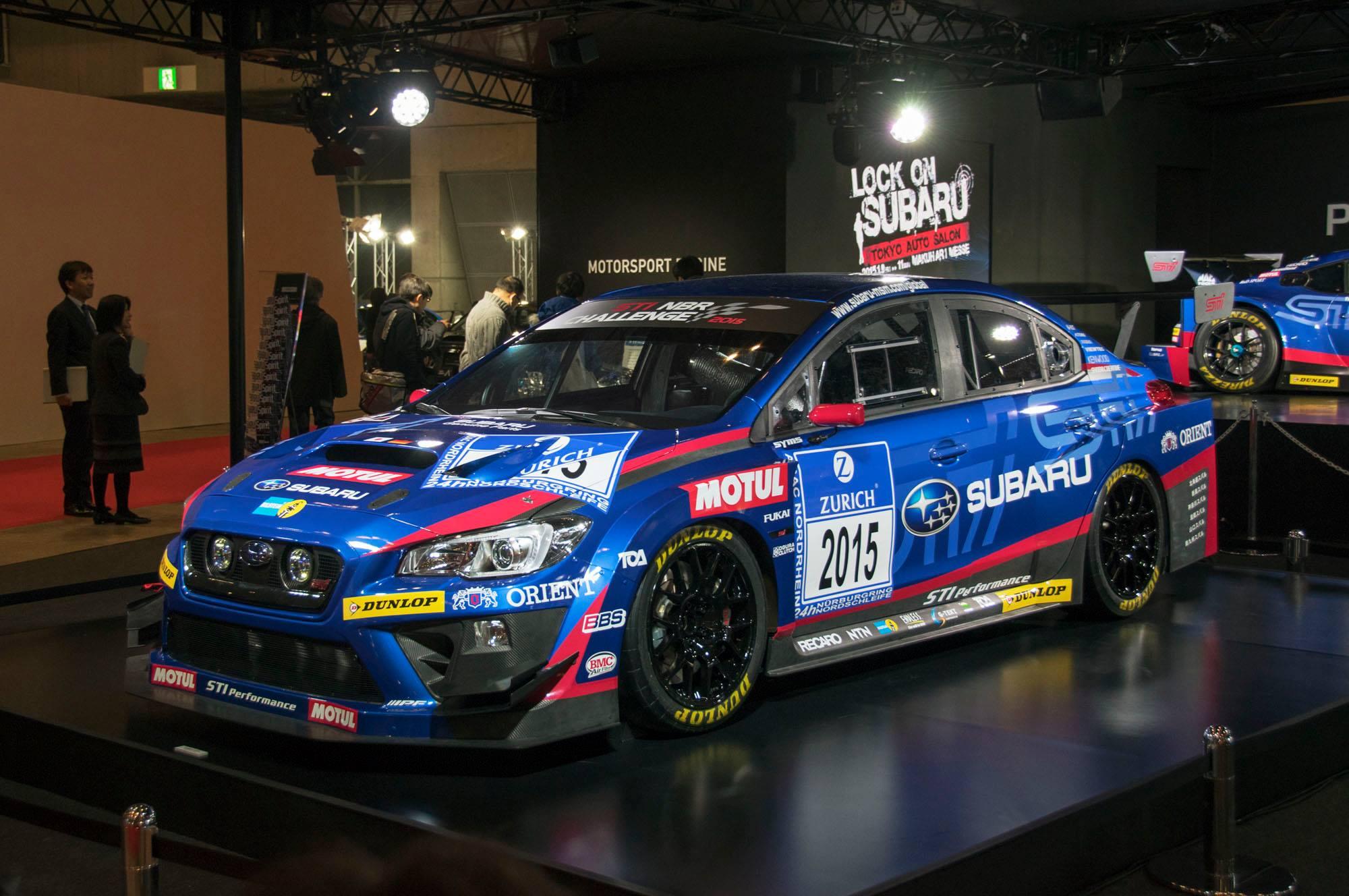 2015 Subaru Racers Revealed Wrx Sti For Nurburgring 24h And Brz Boxer Engine Diagram Gt300
