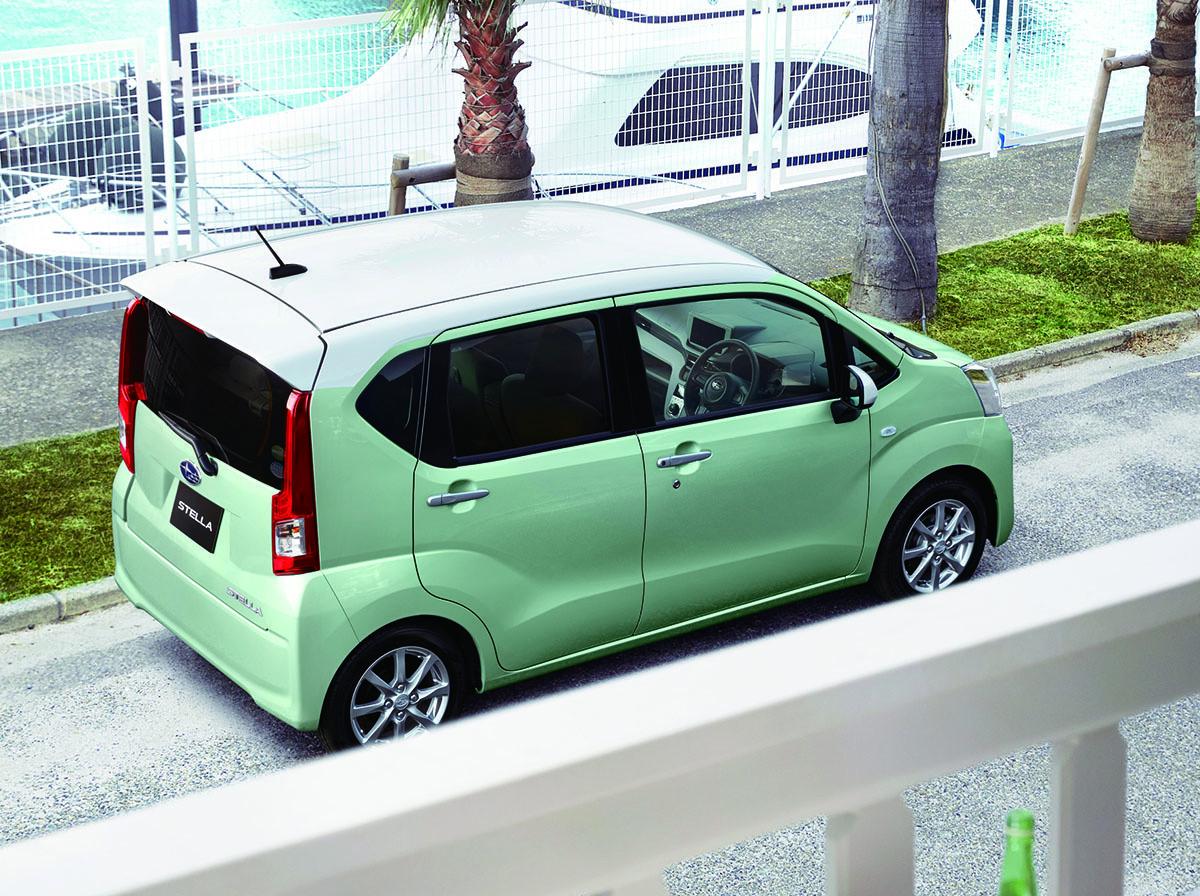 2015 Subaru Stella Is A Squarehead Five Door Kei Car