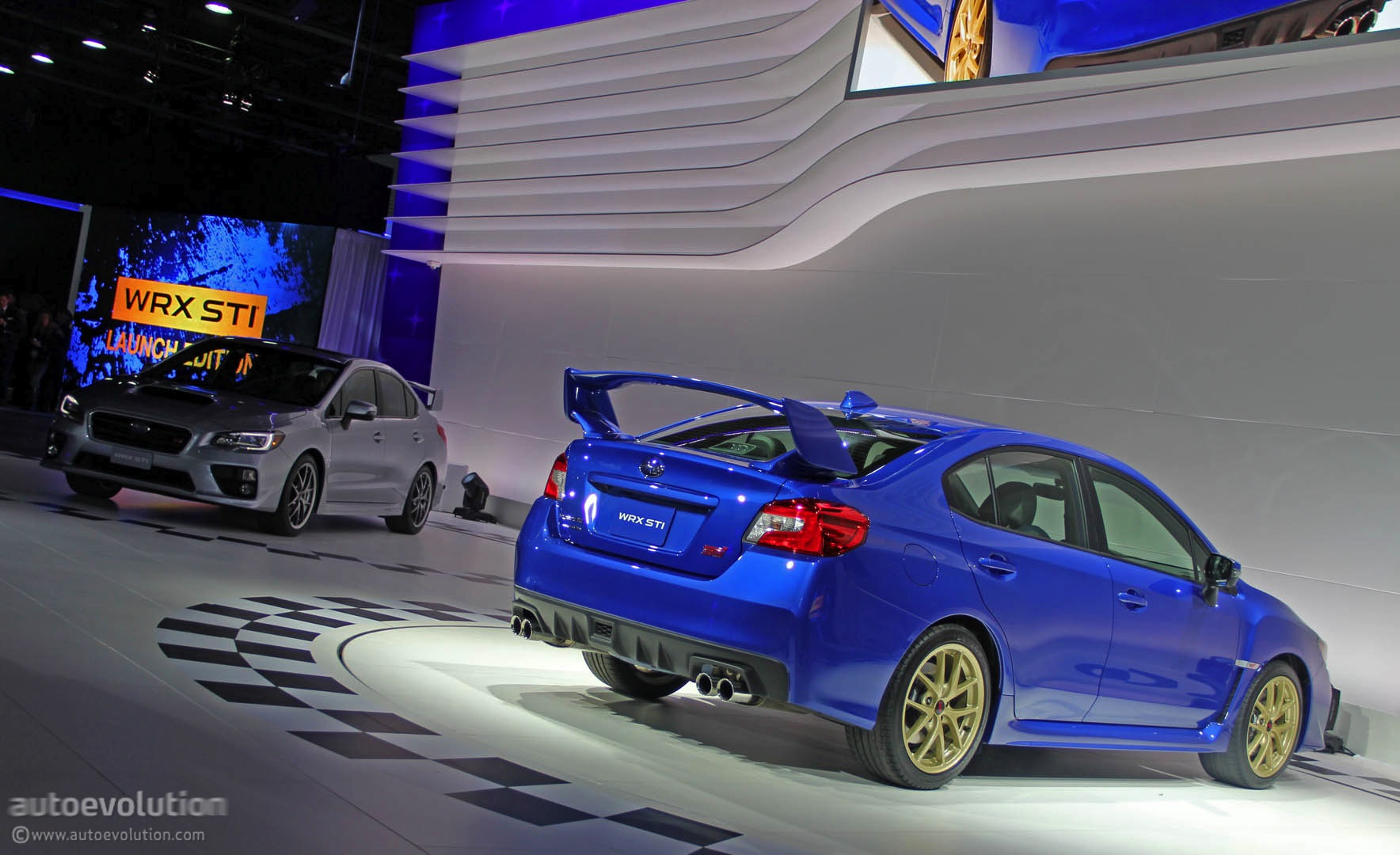 "2015 Subaru WRX STI Gives Hot Girl ""The Ride of Her Life ..."