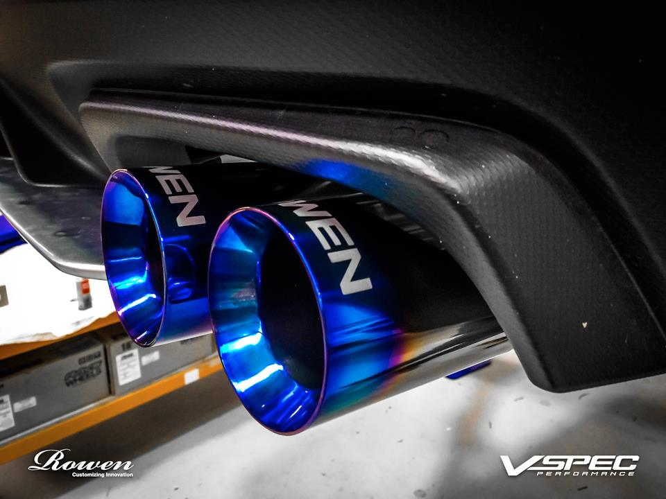 Nissan Warranties 2015 Subaru WRX STI Gets Titanium Exhaust from Rowen ...