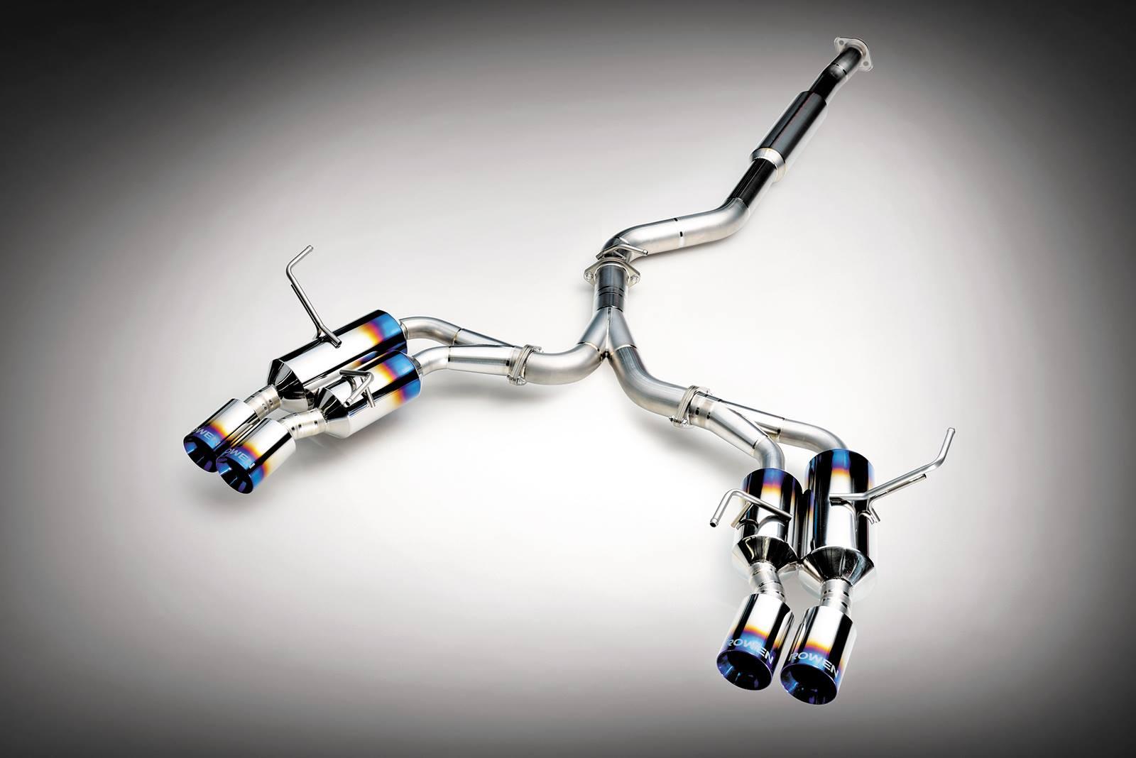 2015 Subaru Wrx Exhaust >> 2015 Subaru WRX STI Gets Titanium Exhaust from Rowen - autoevolution