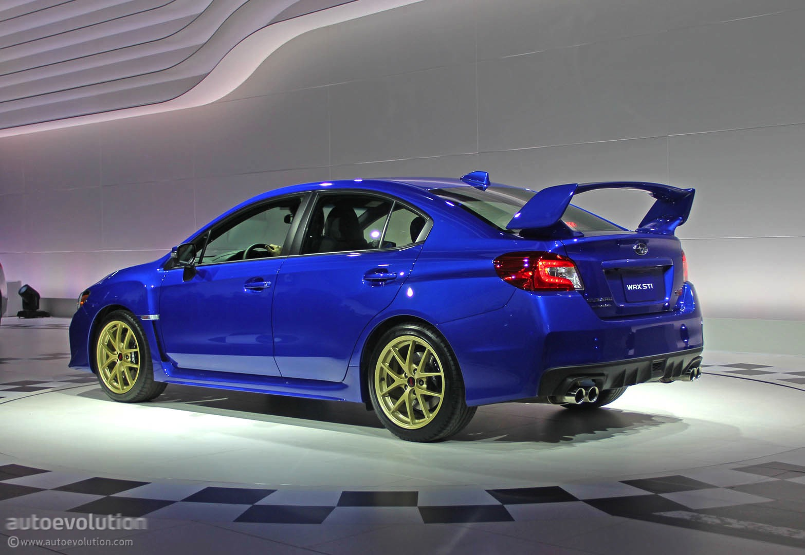 2015 Subaru WRX STI Is Winged to the Teeth [Live Photos ...