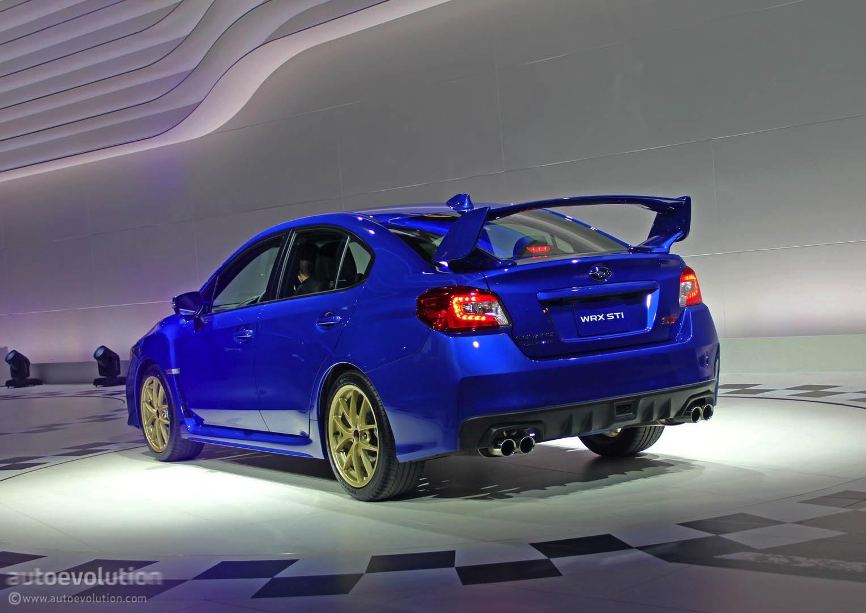 Used Subaru Wrx Sti >> 2015 Subaru WRX STI Is Winged to the Teeth [Live Photos] - autoevolution