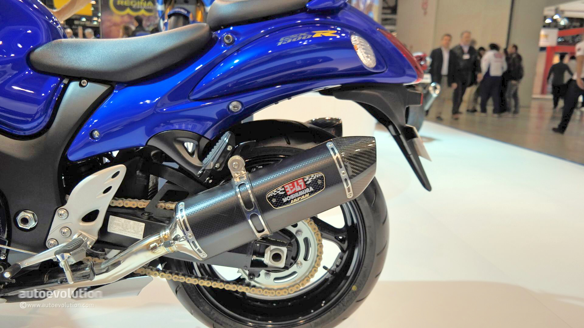 2015 Suzuki GSX1300R Hayabusa Has ABS at EICMA 2014 [Live